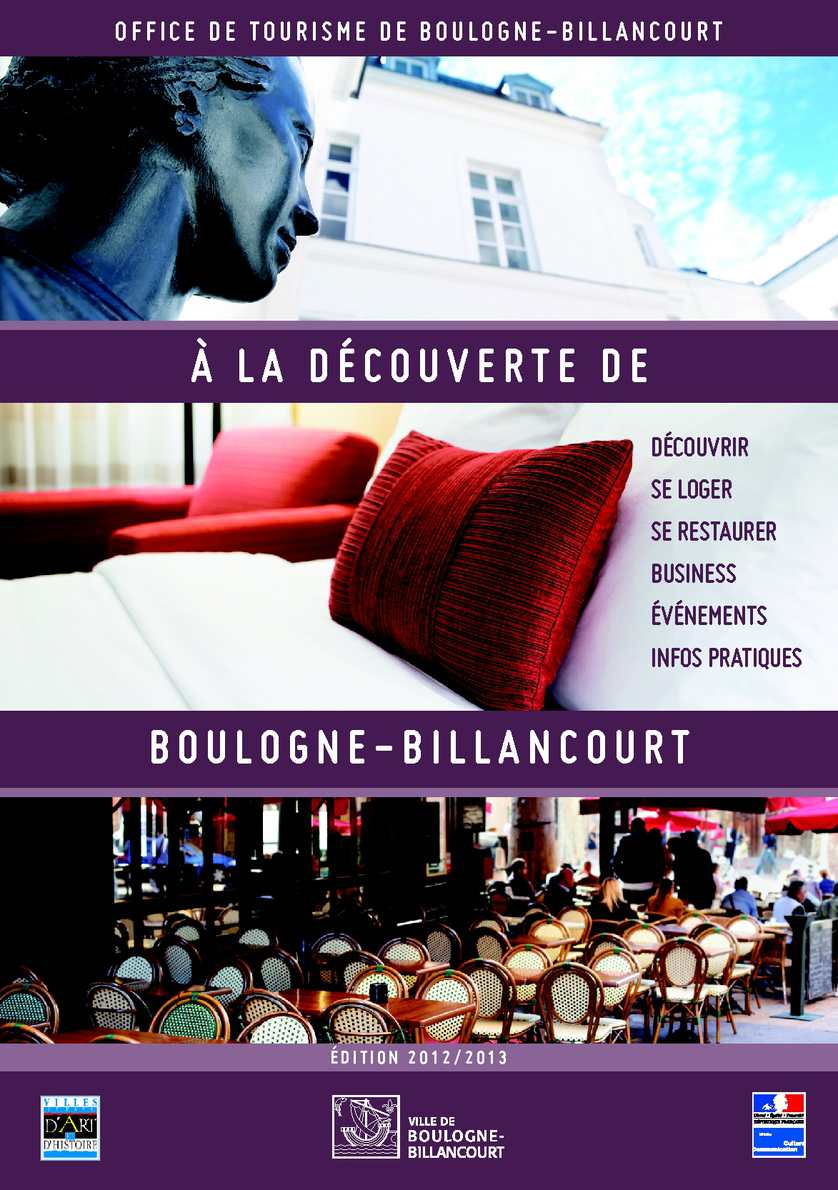 calam o guide touristique de boulogne billancourt. Black Bedroom Furniture Sets. Home Design Ideas