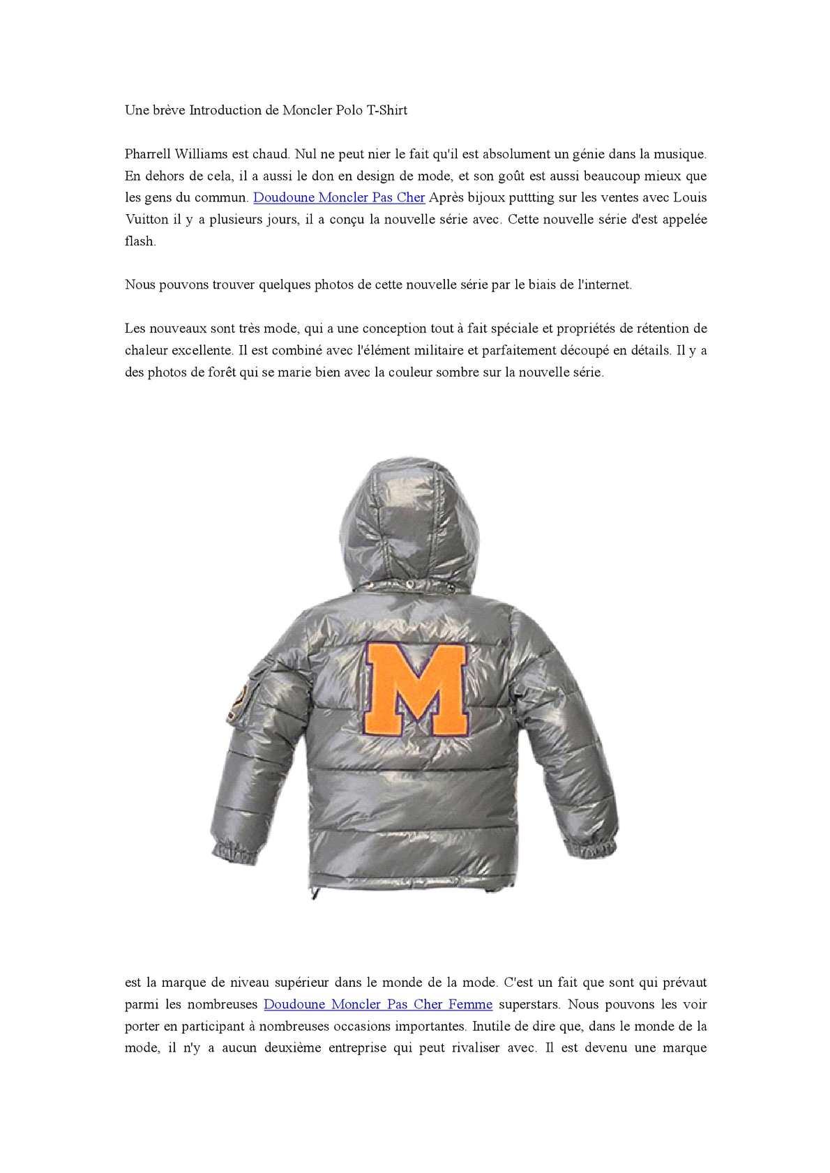 Calaméo - Une breve Introduction de Moncler Polo T-Shirt 97b998993e0