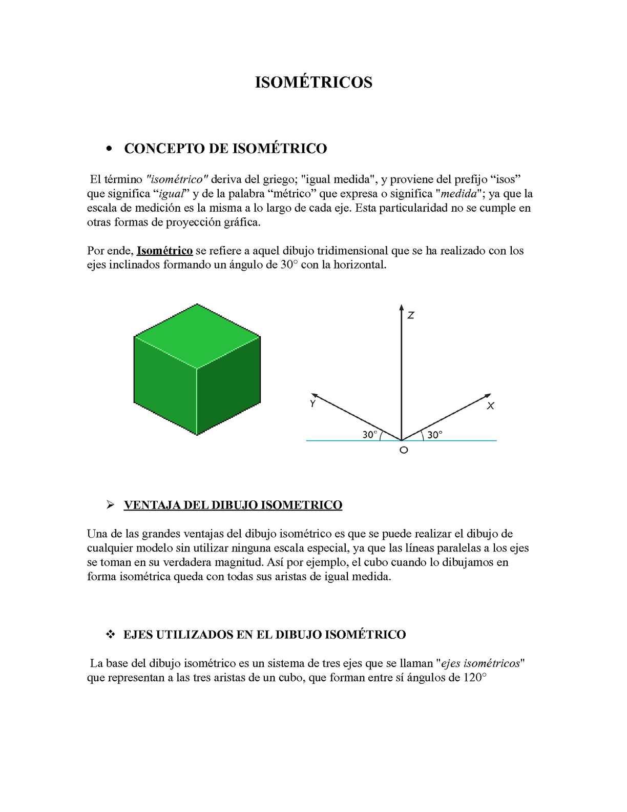 Isometricos
