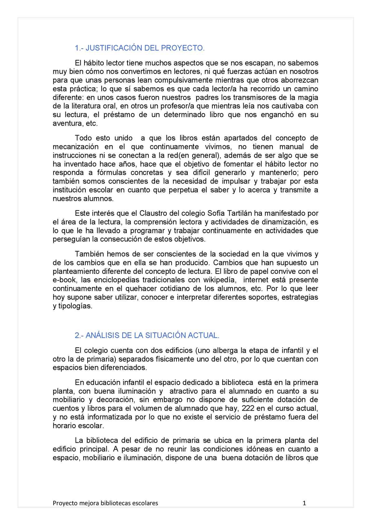 Calaméo Proyecto Biblioteca