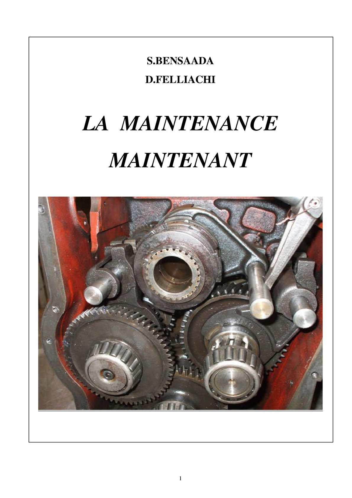 Maintenance industrielle
