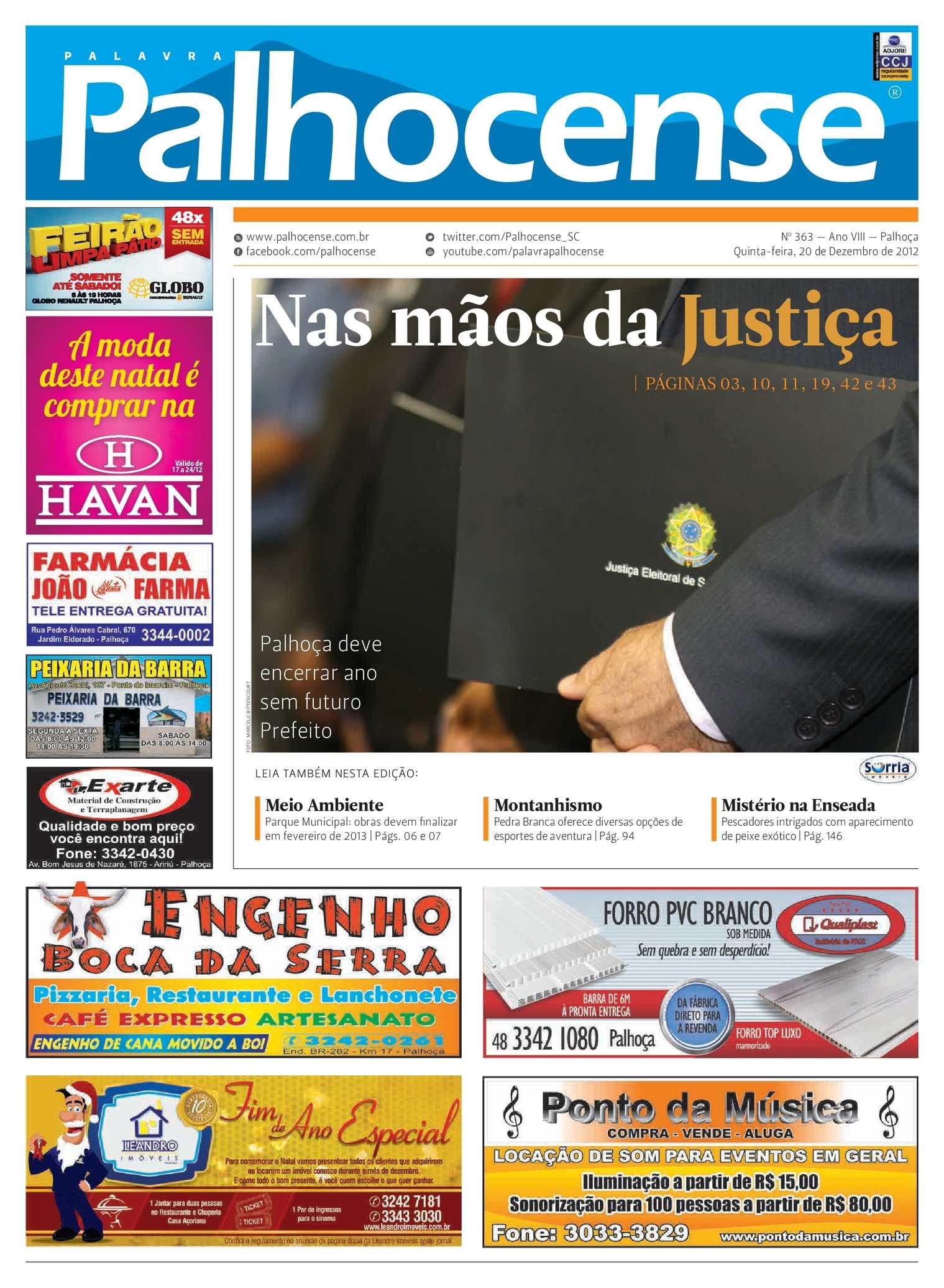 Calaméo - Jornal Palavra Palhocense - Edição 363 146cbd32ce