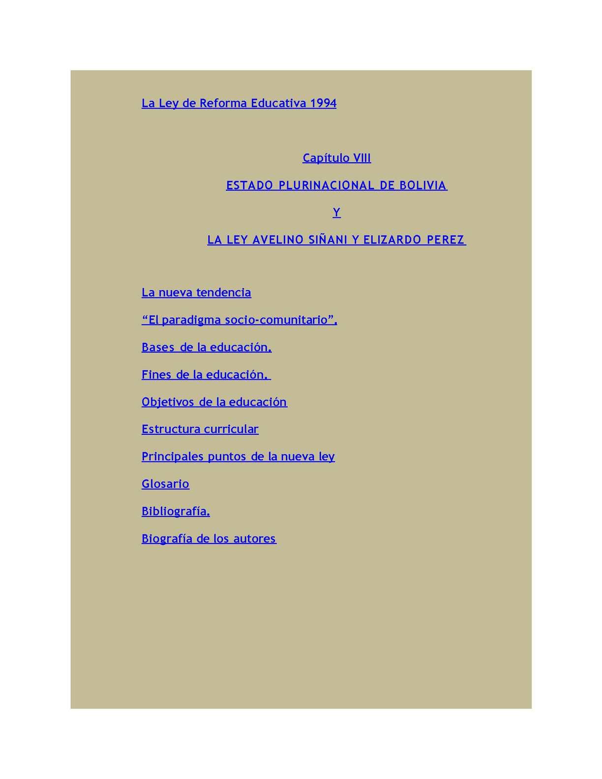 Historia De La Educación En Bolivia Calameo Downloader