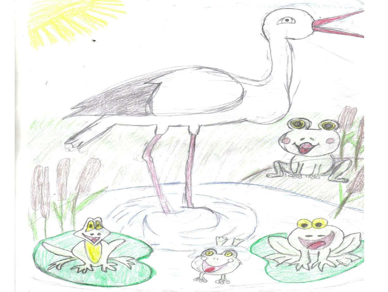 Иллюстрации к сказке кто чем поет
