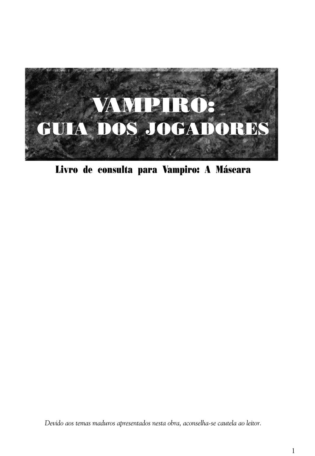 Calaméo - Guia dos Jogadores - Suplemento 016292c906