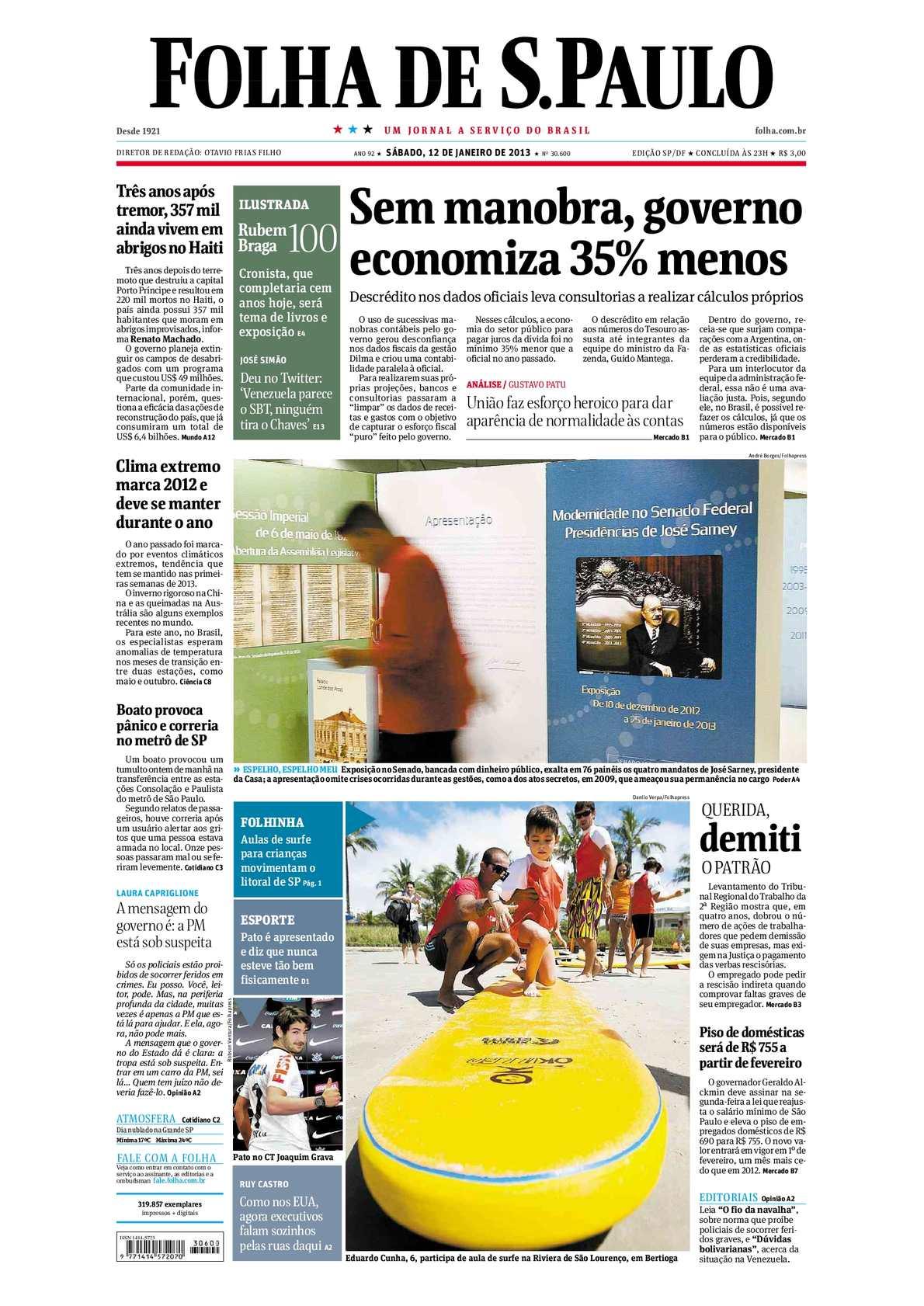 03a9ca87c705d Calaméo - Folha de São Paulo - 12-01-2013
