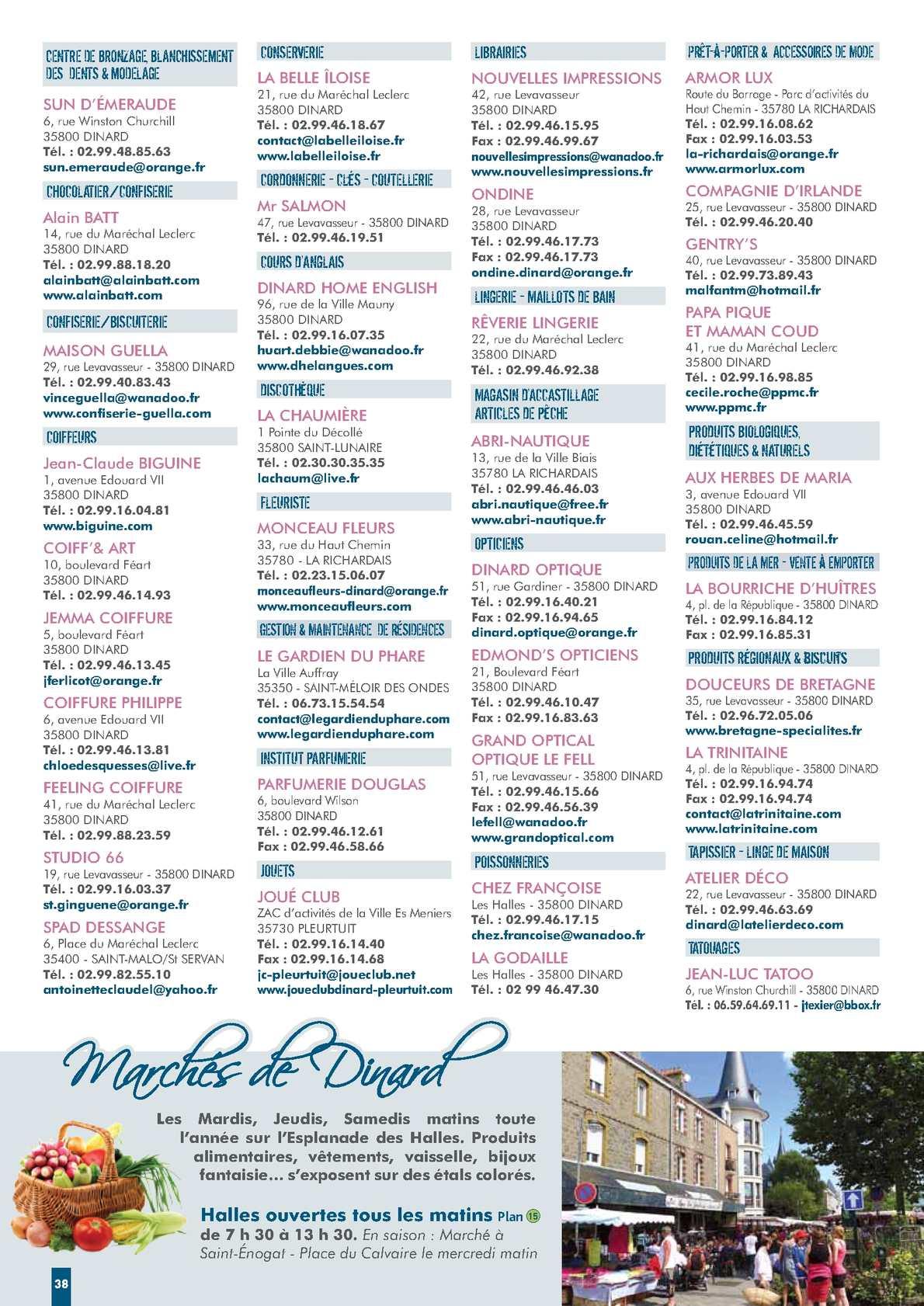 Guide Pratique Dinard 2013 Calameo Downloader