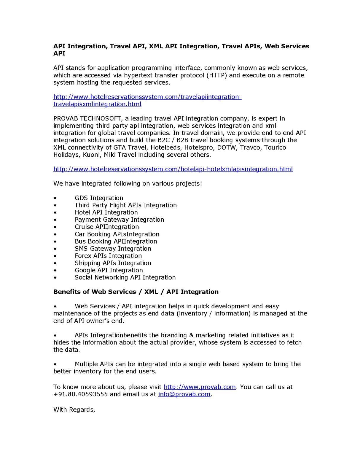 Calaméo - API Integration, Travel API, XML API Integration