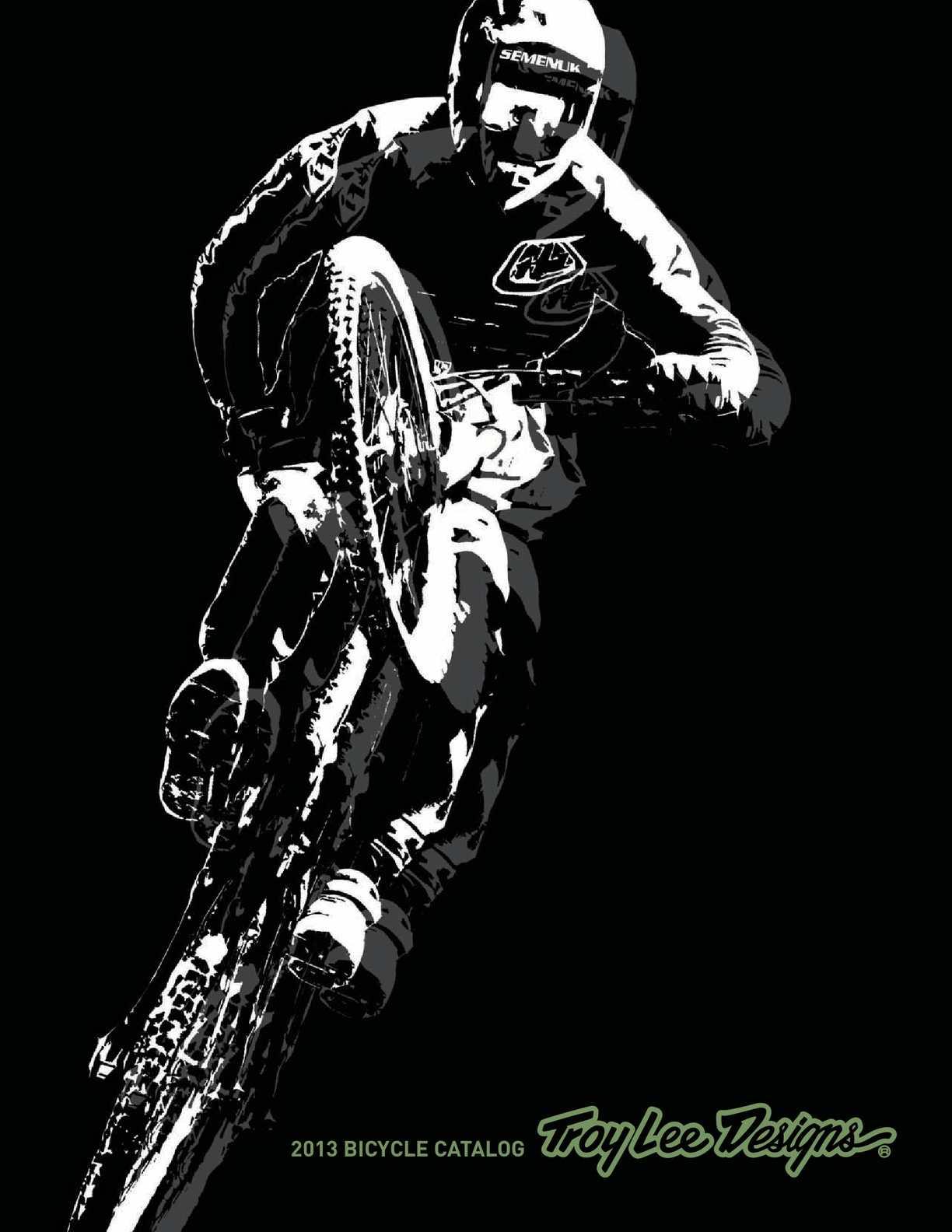 Troy Lee Designs Mountain Bike Jersey SKYLINE L//S JERSEY; CHECKER HTH GRY//BLK 2X