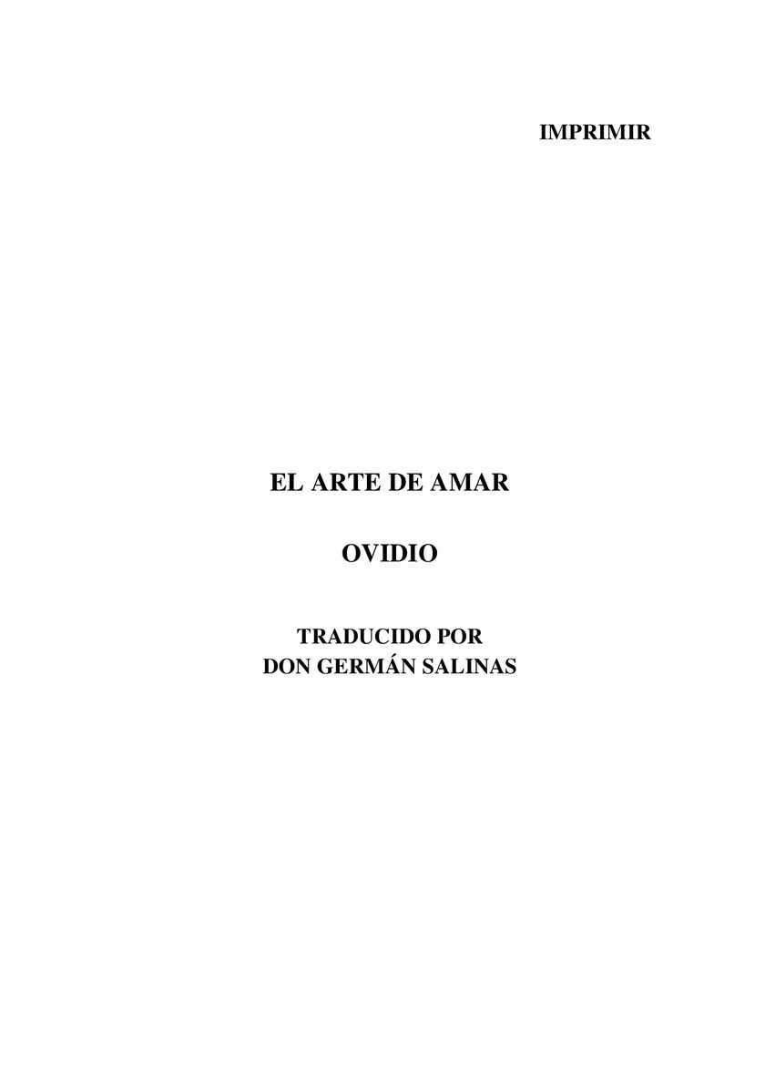 Calaméo El Arte De Amar Ovidio