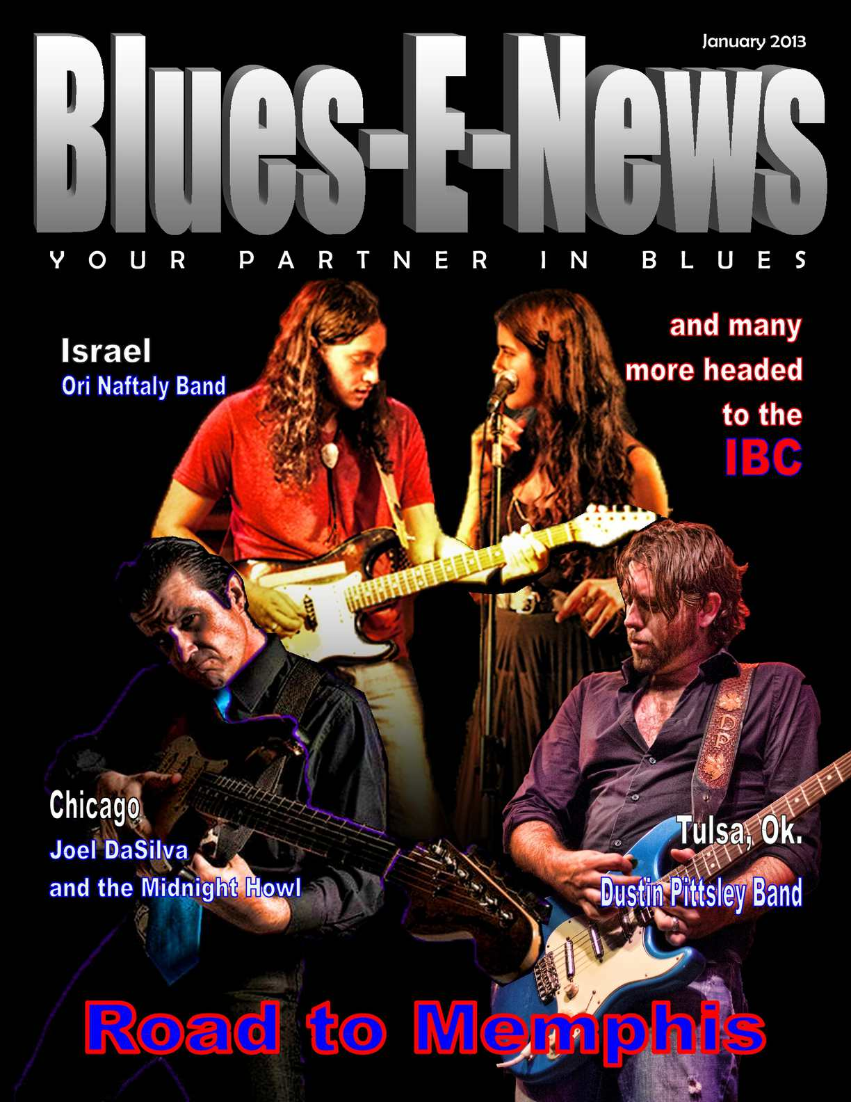 Calaméo - Blues-E-News Magazine January issue 2013
