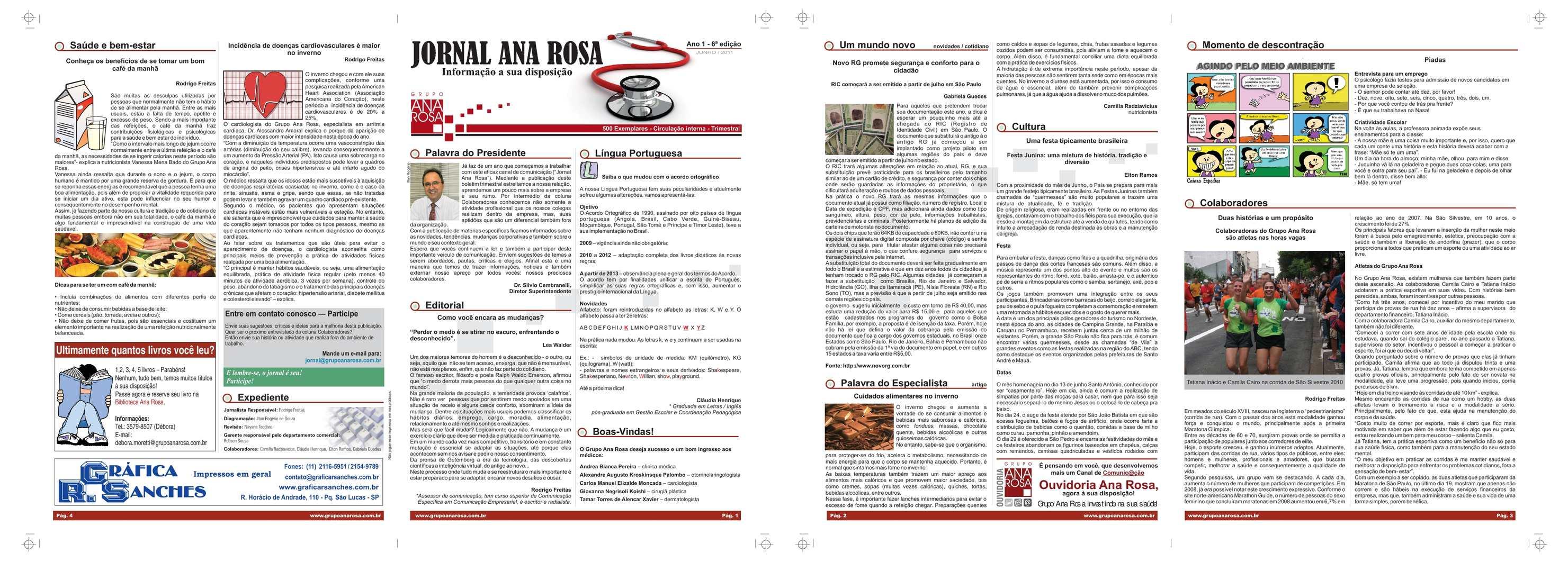 Calaméo House Organ Grupo Ana Rosa