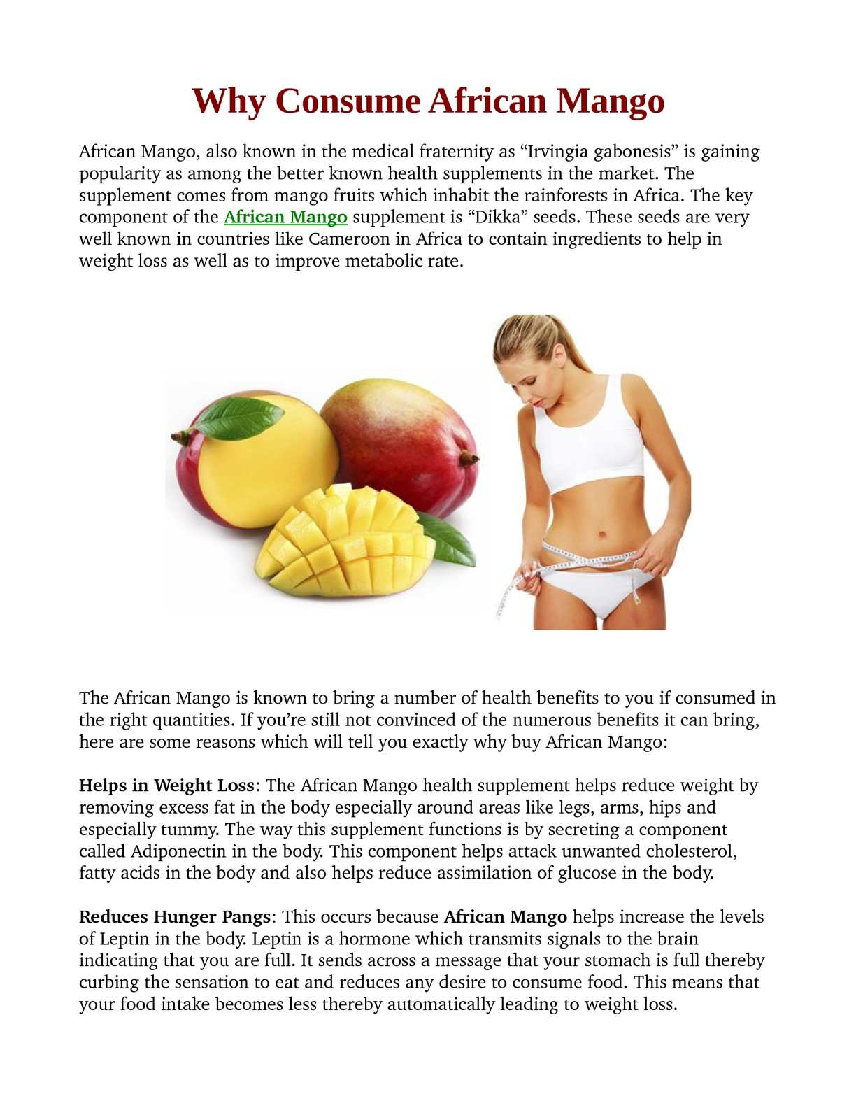 Calameo African Mango