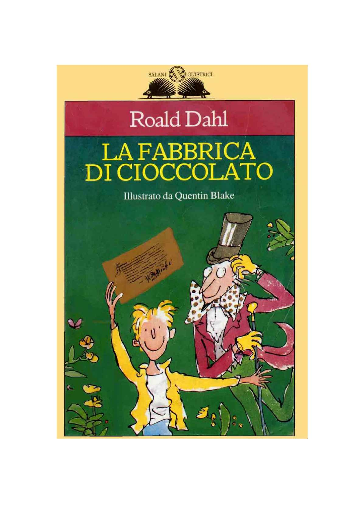 Childs Roald Dahl Augustus ricoperta Costume Libro Day Outfit Smiffys Nuovi