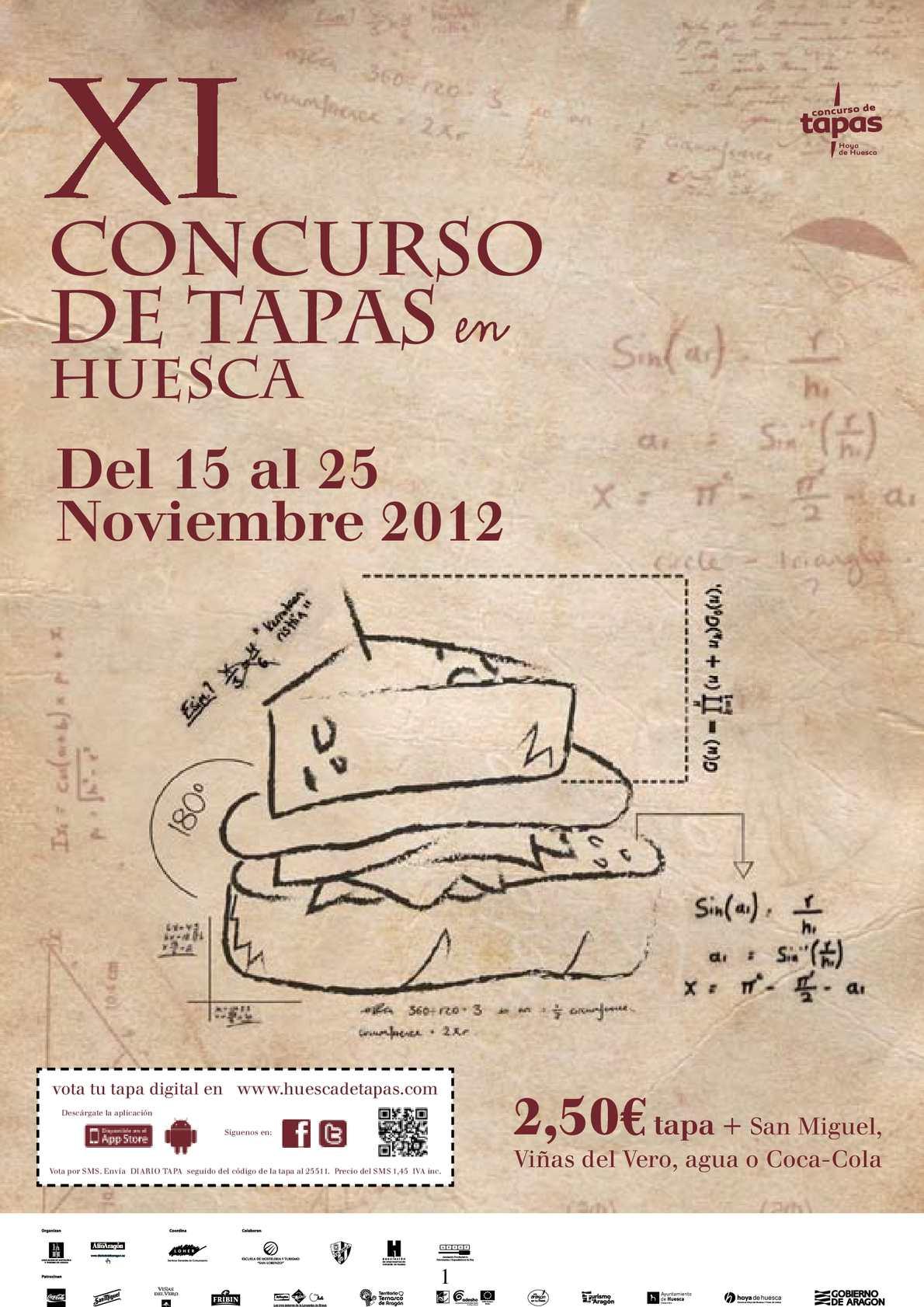 Calaméo - Dossier XI Concurso de Tapas en Huesca 10b68001345da