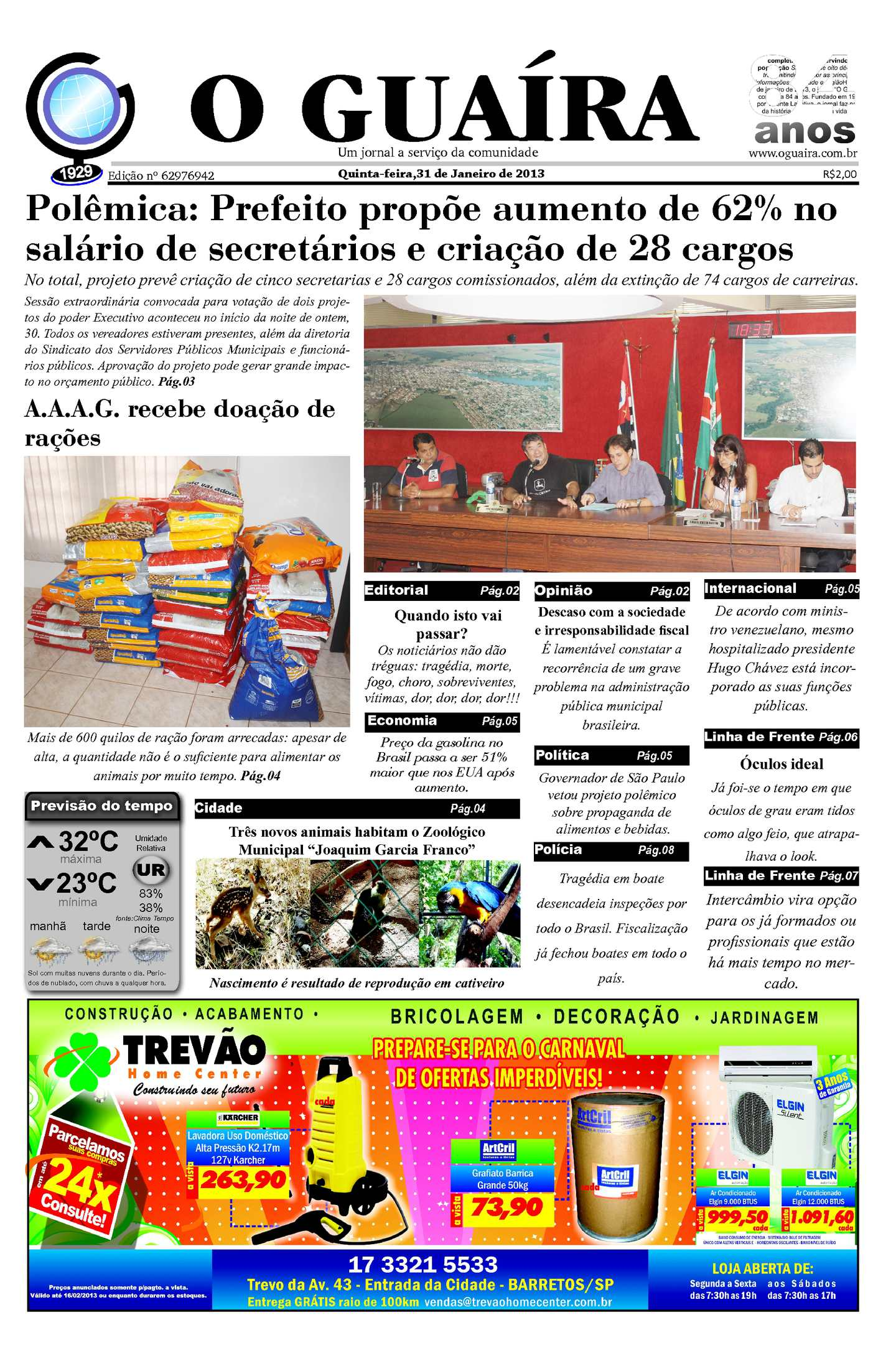 8079b60619733 Calaméo - Jornal 31 01 2013