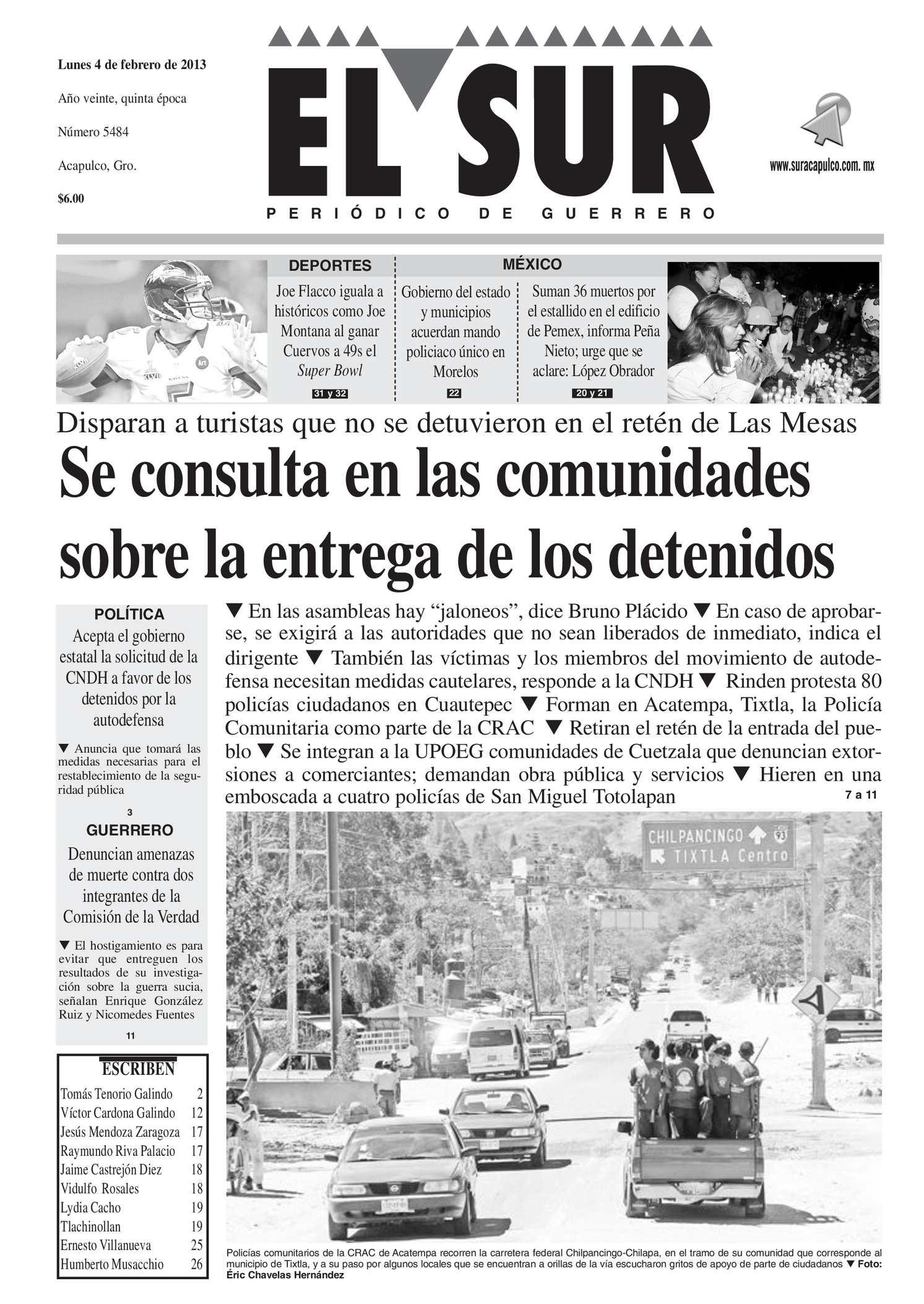Calaméo El Sur 4 De Febrero De 2013