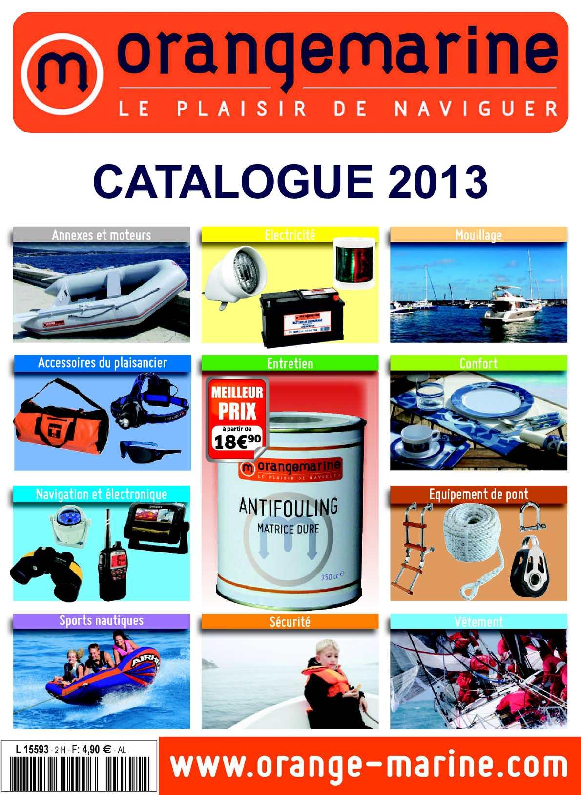 Orangemarine Casier pour GPS et t/él/éphone Portable Store All Blanc
