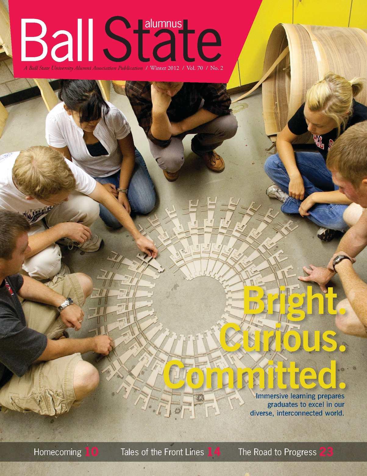 Calameo Alumnus E Magazine Winter 2012