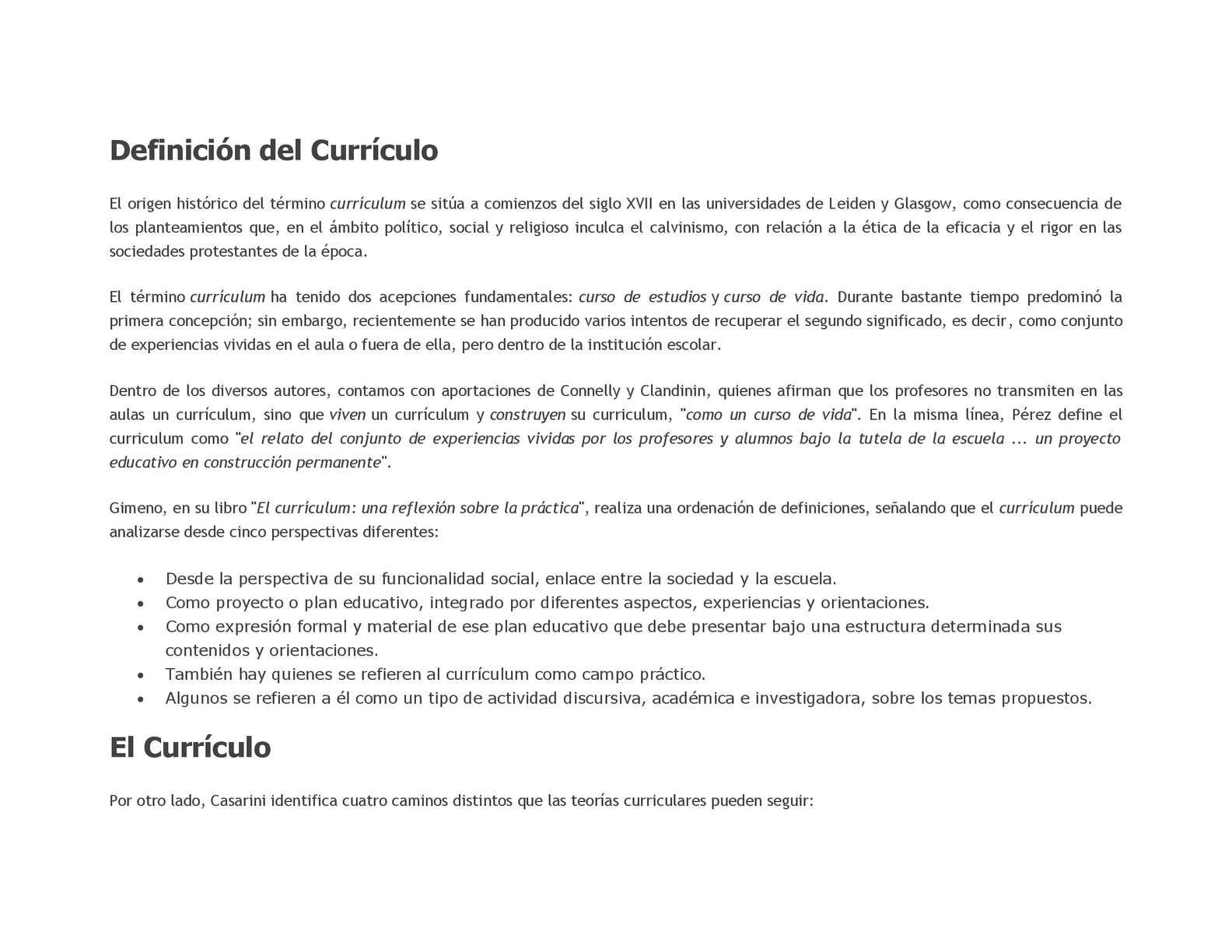 Calaméo Definición Del Currículo