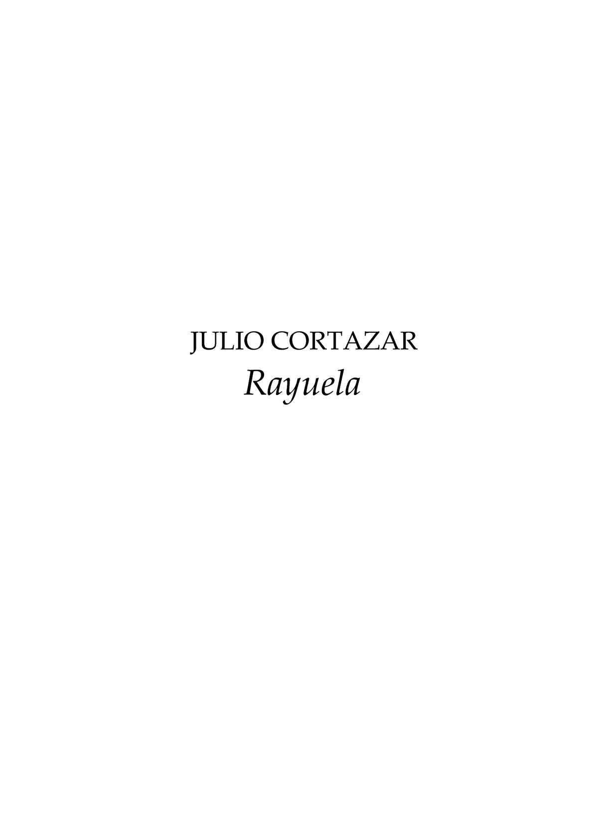 Calaméo - Rayuela. Julio Cortázar 891b5a03eed