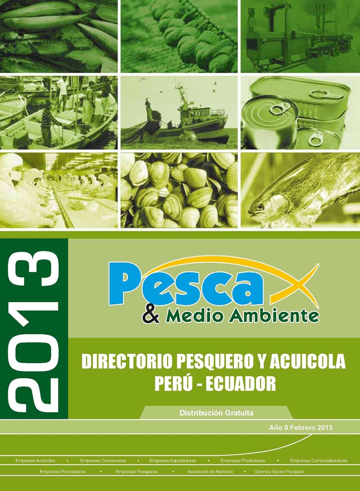 DIRECTORIO PESQUERO Y ACUICOLA PERU-ECUADOR N° 54