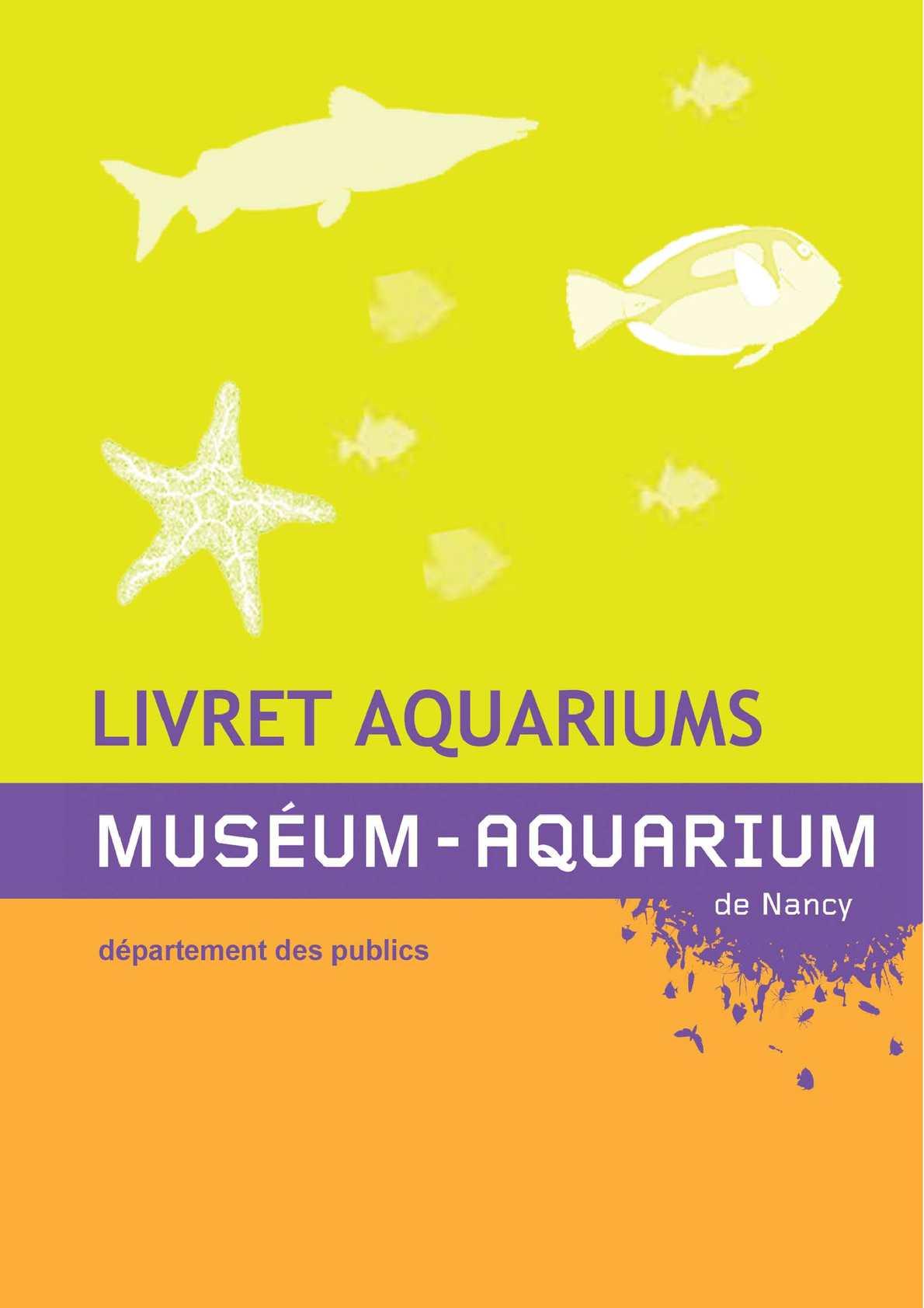 Livret aquariums