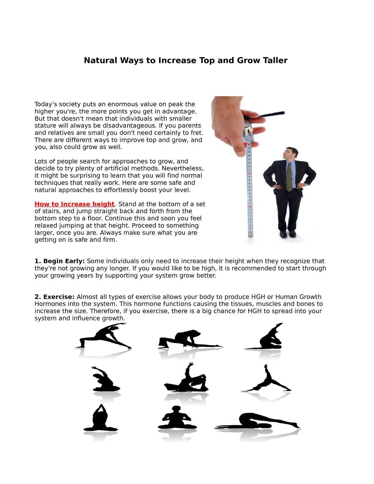 Calaméo - Natural Ways to Increase Top and Grow Taller