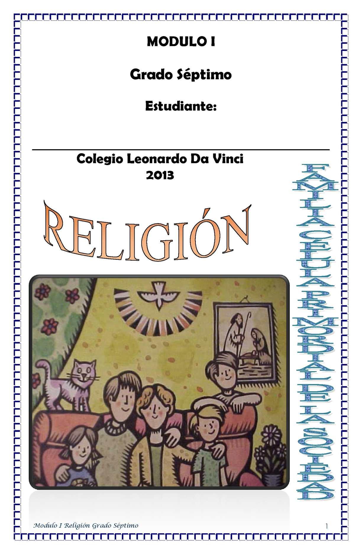Calaméo Religión Módulo 1