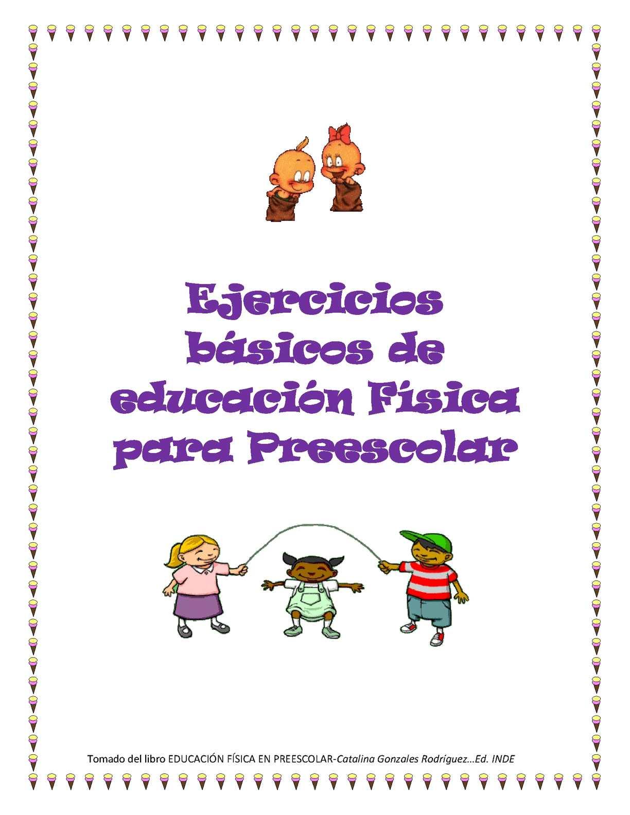 Calaméo Actividades De Educacion Fisica Para Pre Escolar
