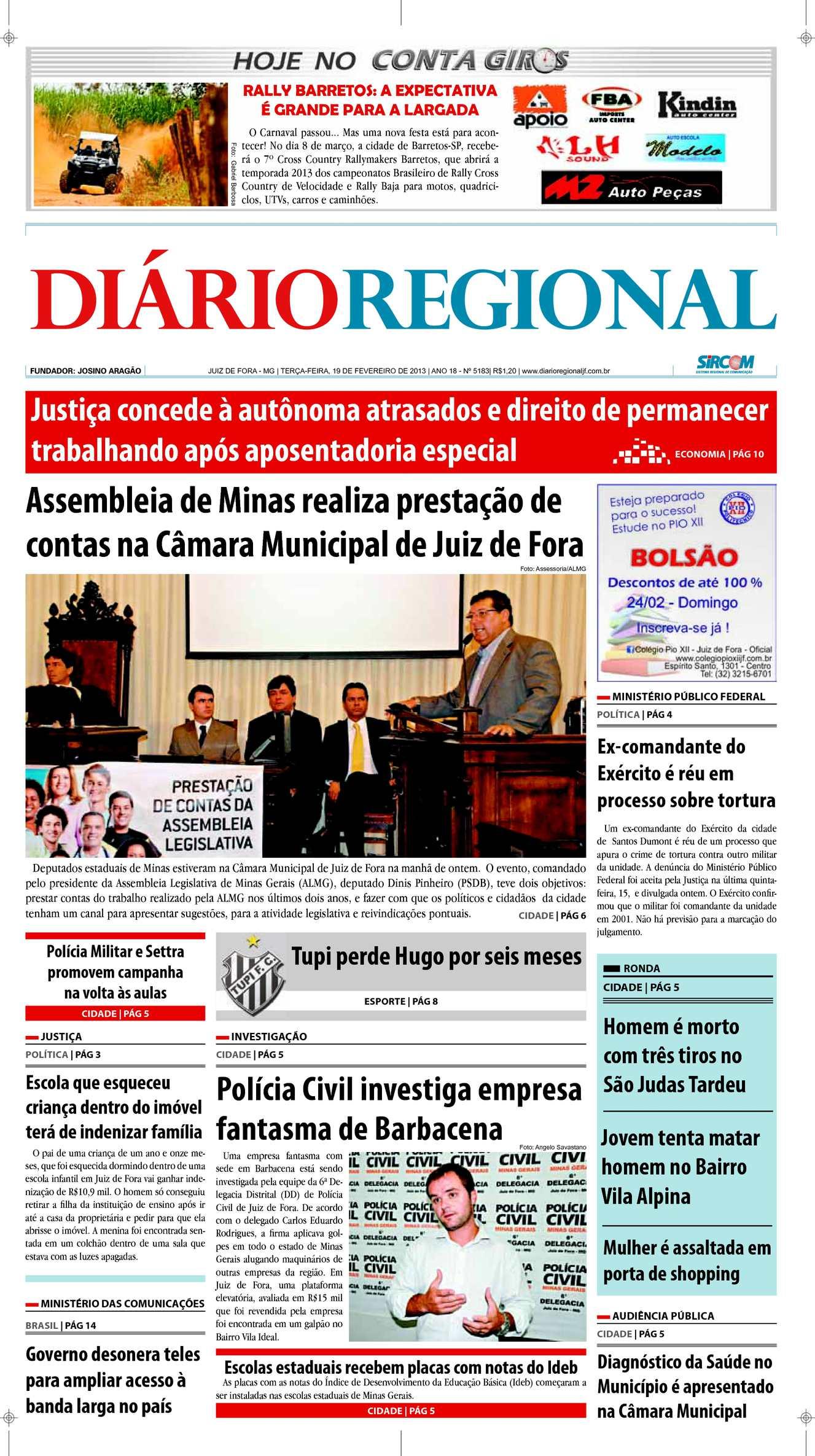 046cff60c93 Calaméo - Edição 19 02 2013