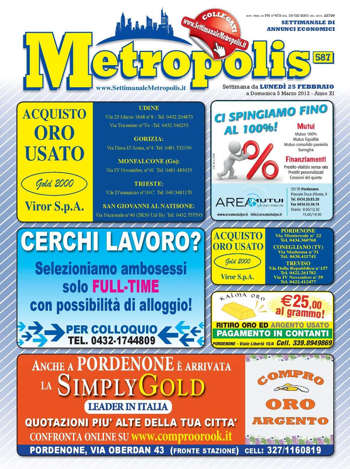 Metropolis Febbraio 2013 Del Calaméo587 25 TOZiPkXwul