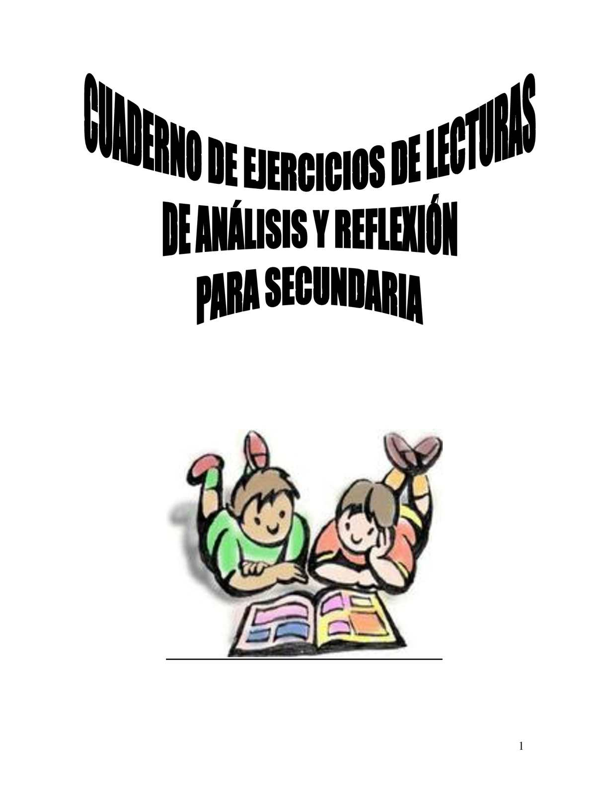 Calaméo Cuaderno De Ejercicios De Lecturas De Análisis Y