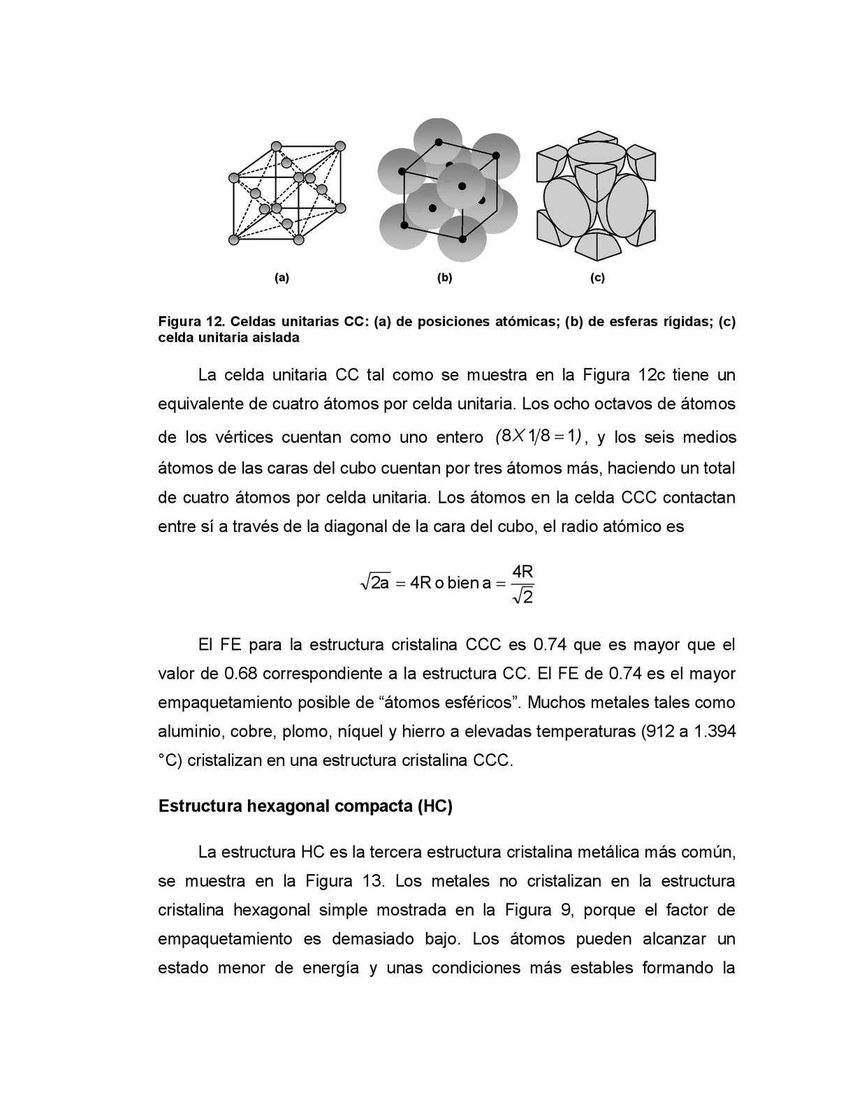 Temario Estructura Cristalina De Los Materiales Calameo