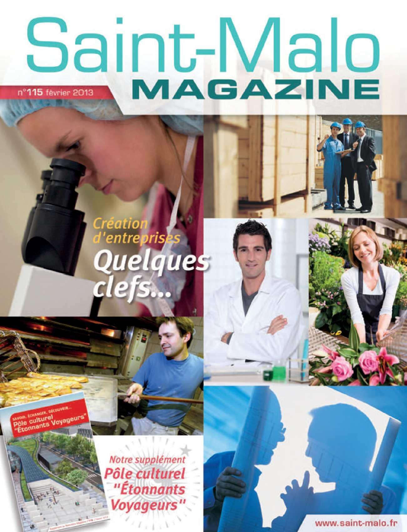 Calaméo   Saint Malo Magazine n°40