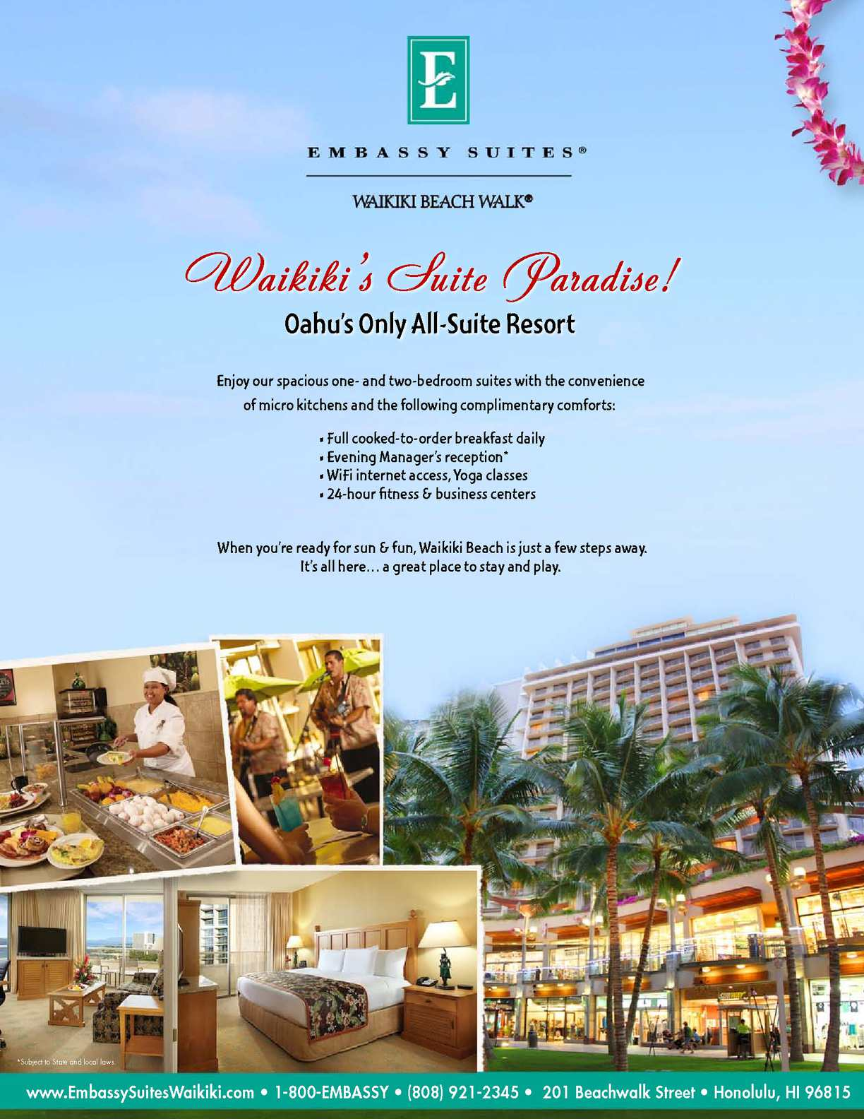 Calameo Embassy Suites Waikiki Newsletter March 2013