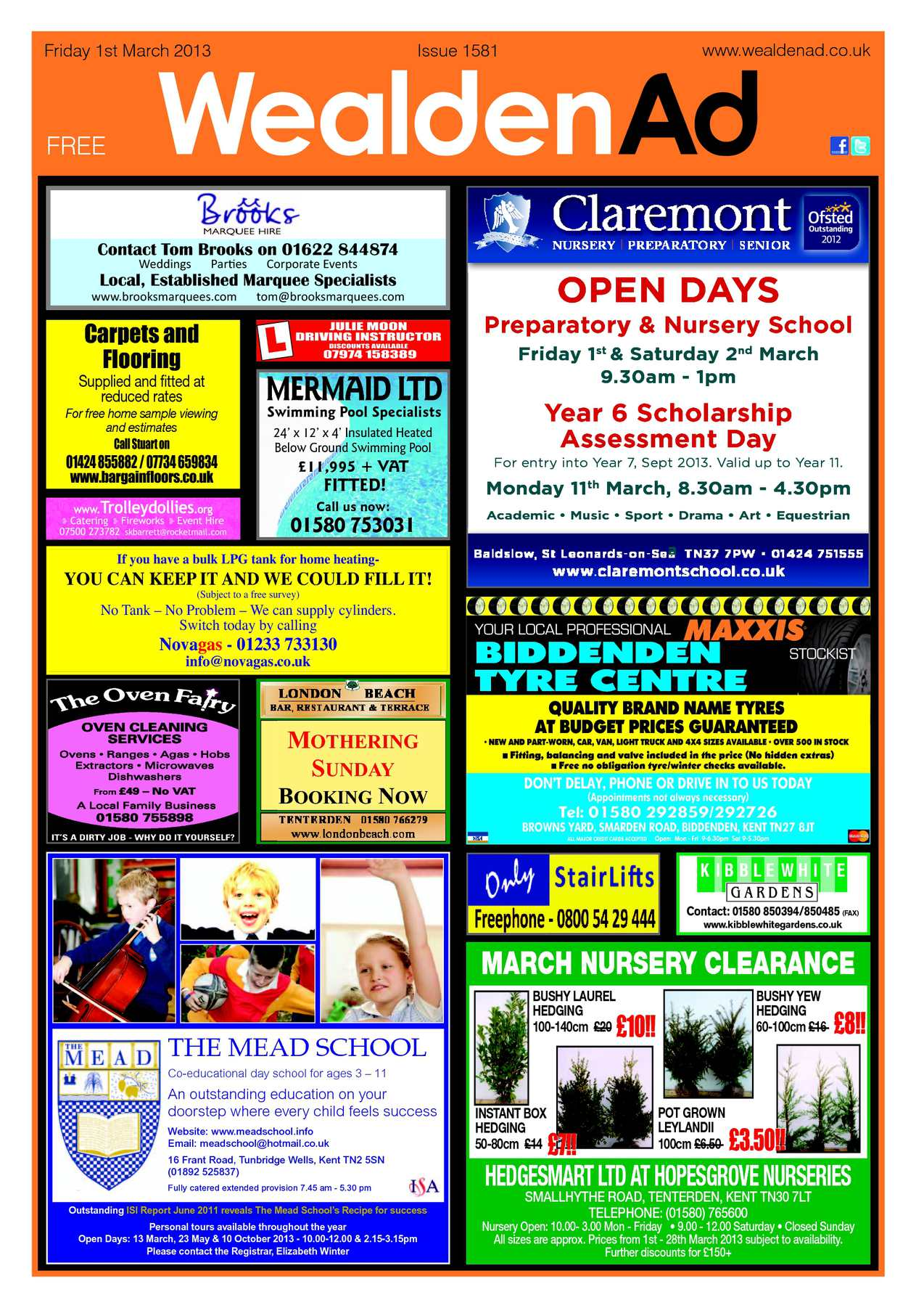 Lilley Tile And Stone Llp calaméo - wealden advertiser 01/03/2013