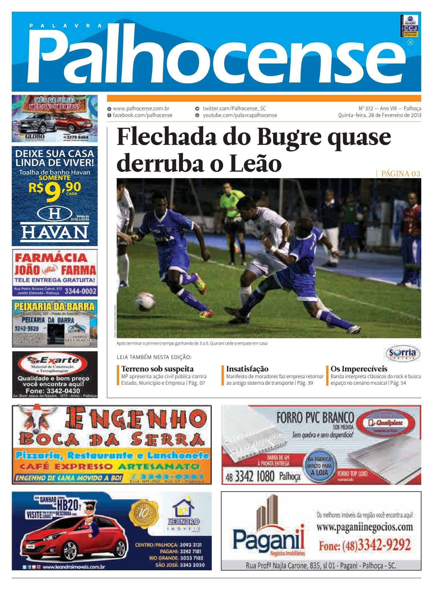 ae94edc10a942 Calaméo - Jornal Palavra Palhocense - Edição 372