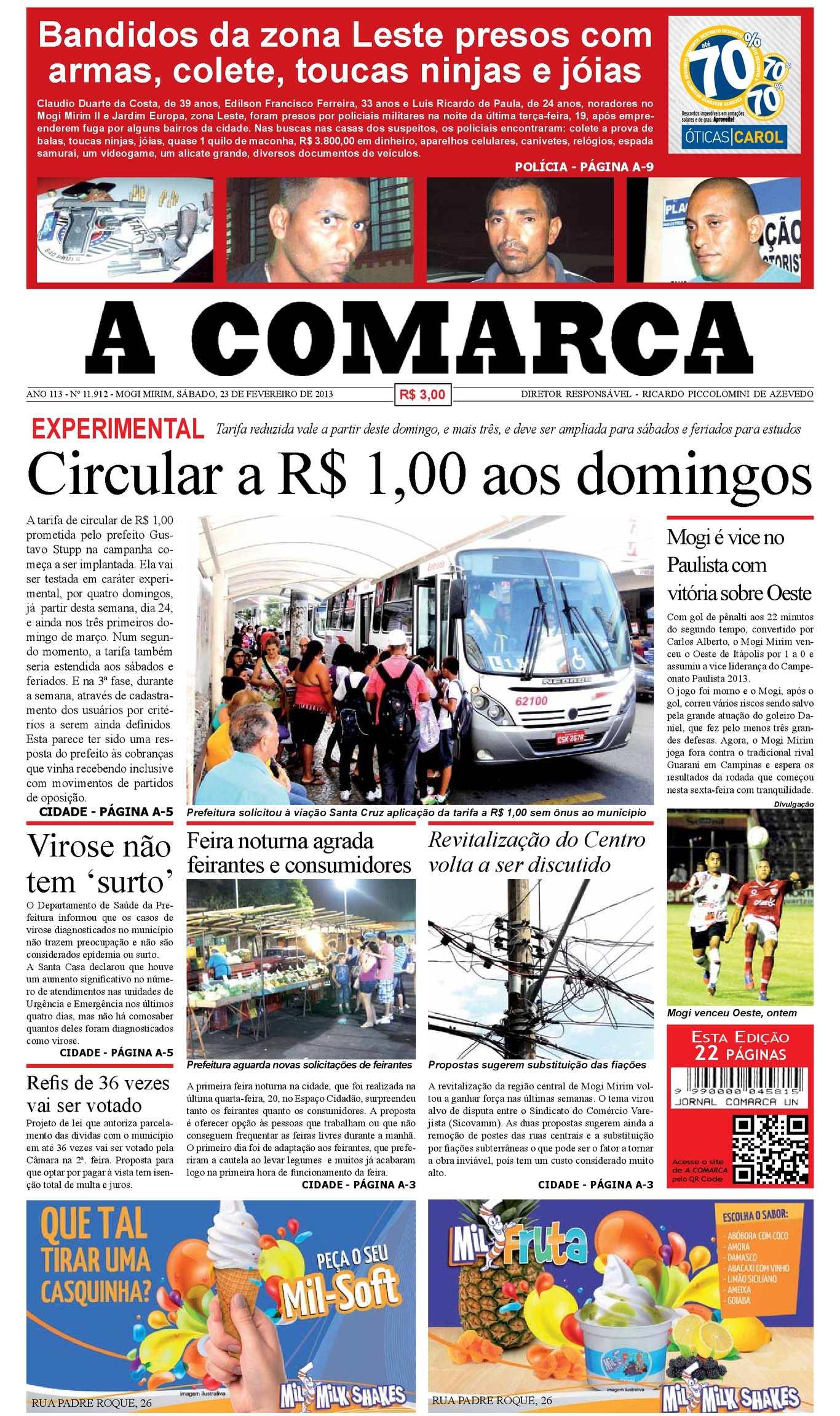 1a9f4e4634d84 Calaméo - A Comarca