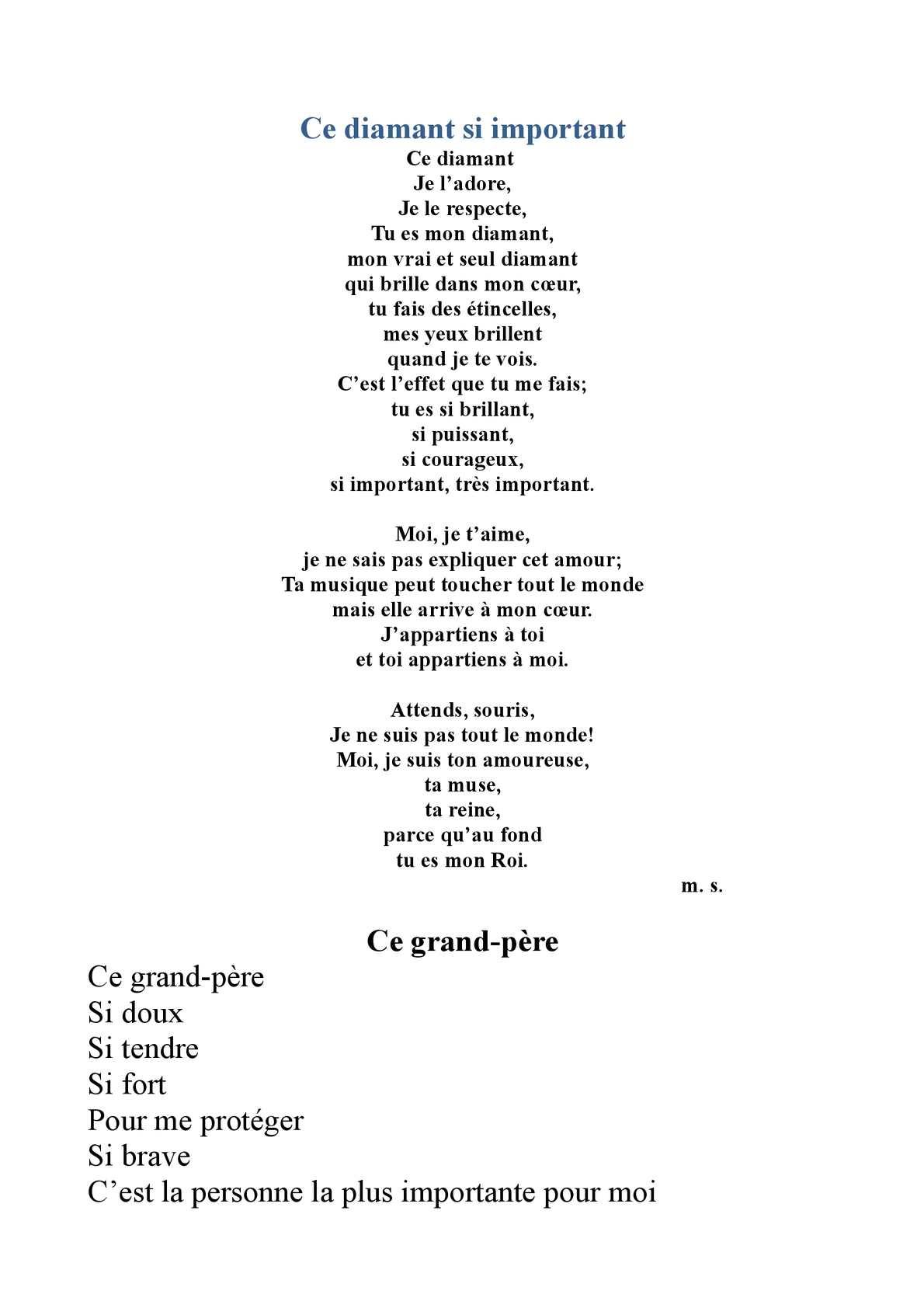 Calaméo Recueil De Poèmes