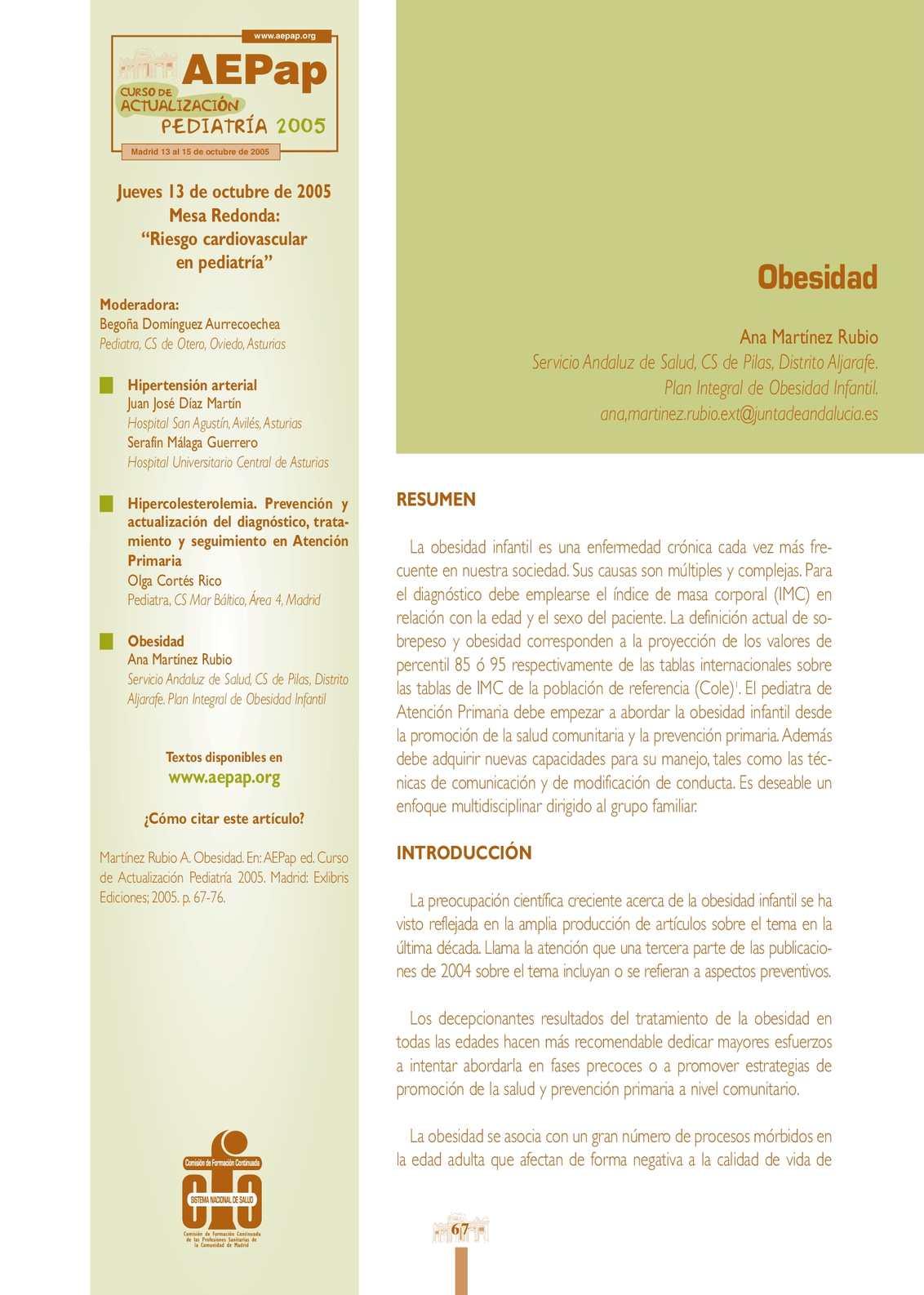 Obesidad intracraneal benigna obesidad