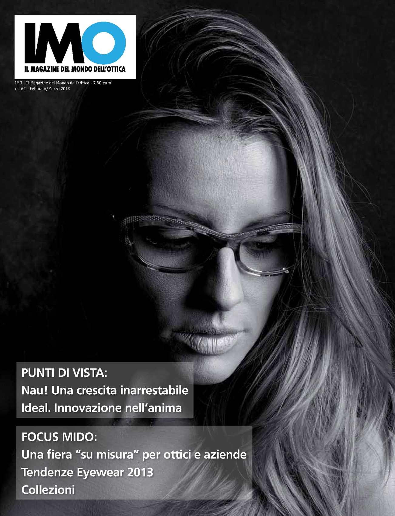 31f0db9307 Calaméo - IMO - Il Magazine del Mondo dell'Ottica n.62- febbraio/marzo 2013