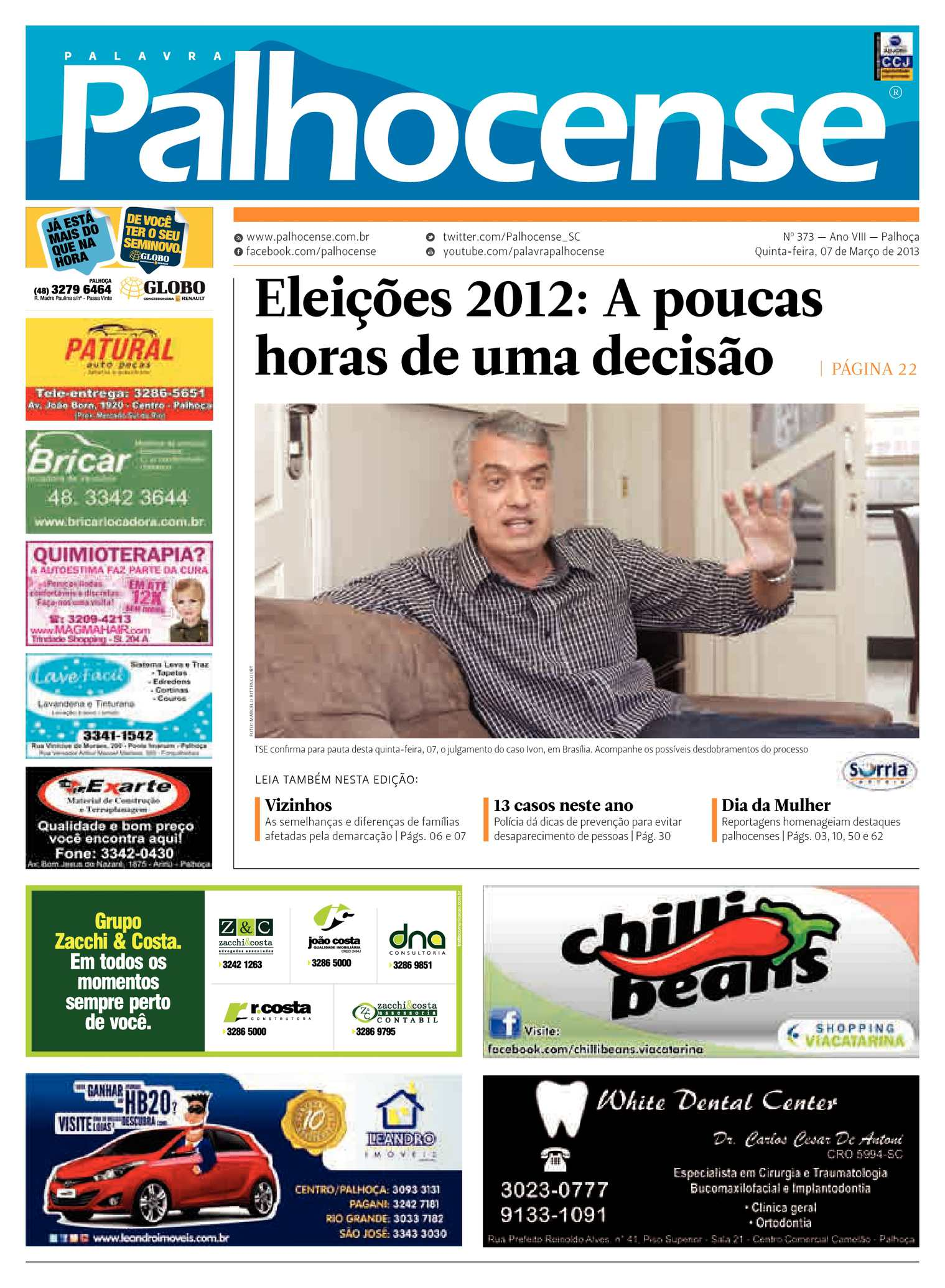 e218efec9 Calaméo - Jornal Palavra Palhocense - Edição 373