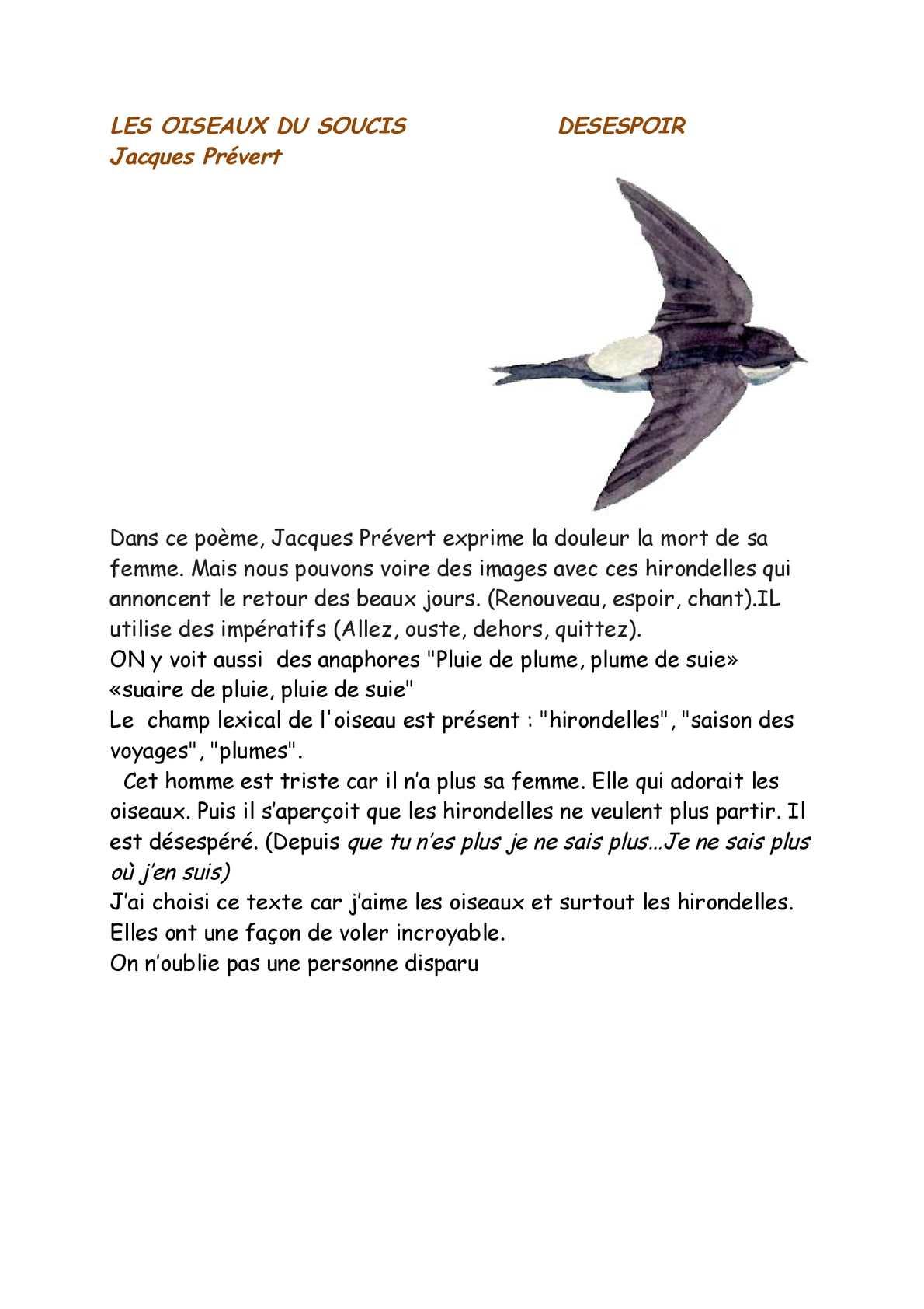 Calaméo Les Oiseaux Du Soucis Page 6