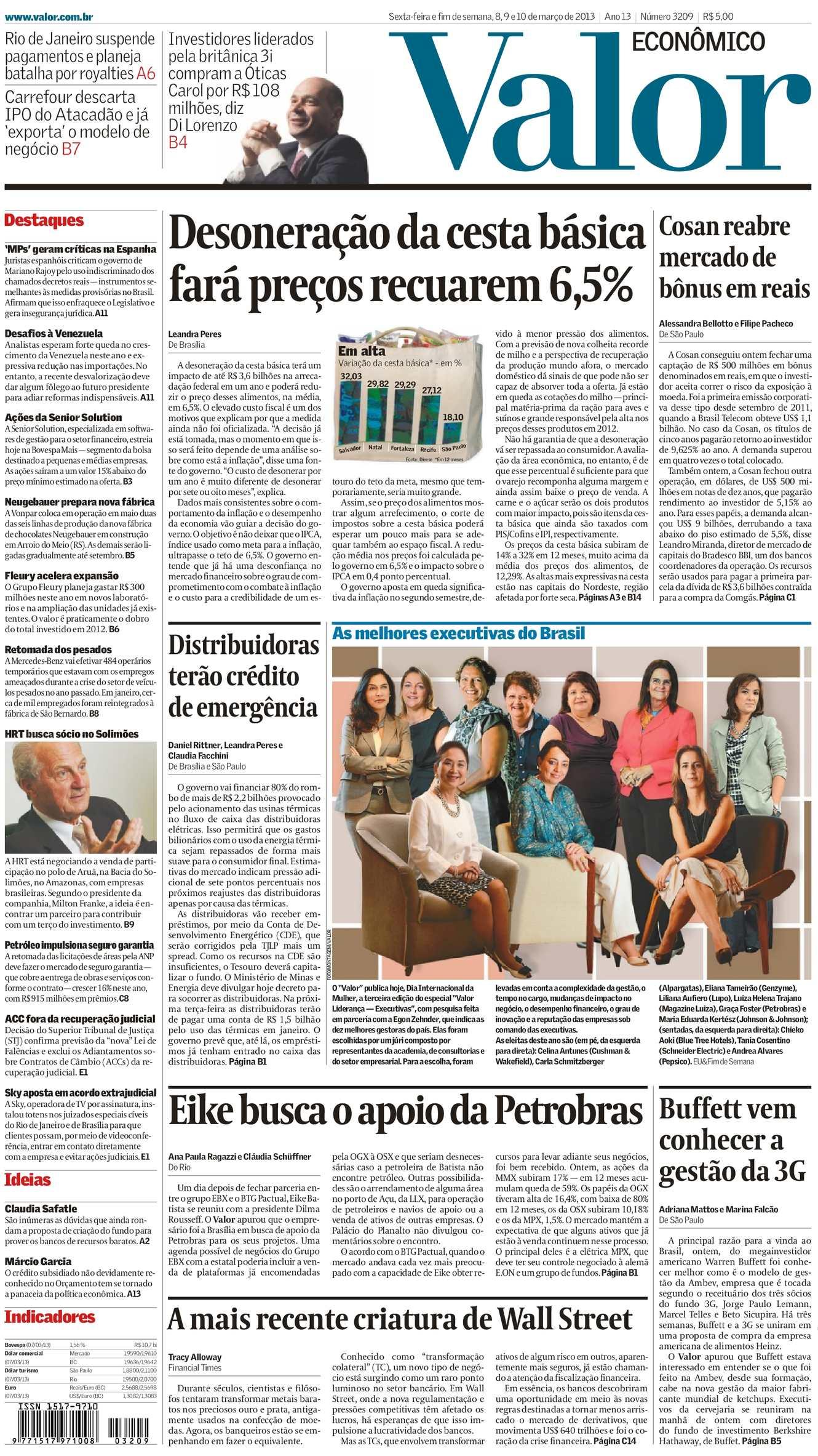 Calaméo - Valor Econômico 08-03-2013 188e3a9667