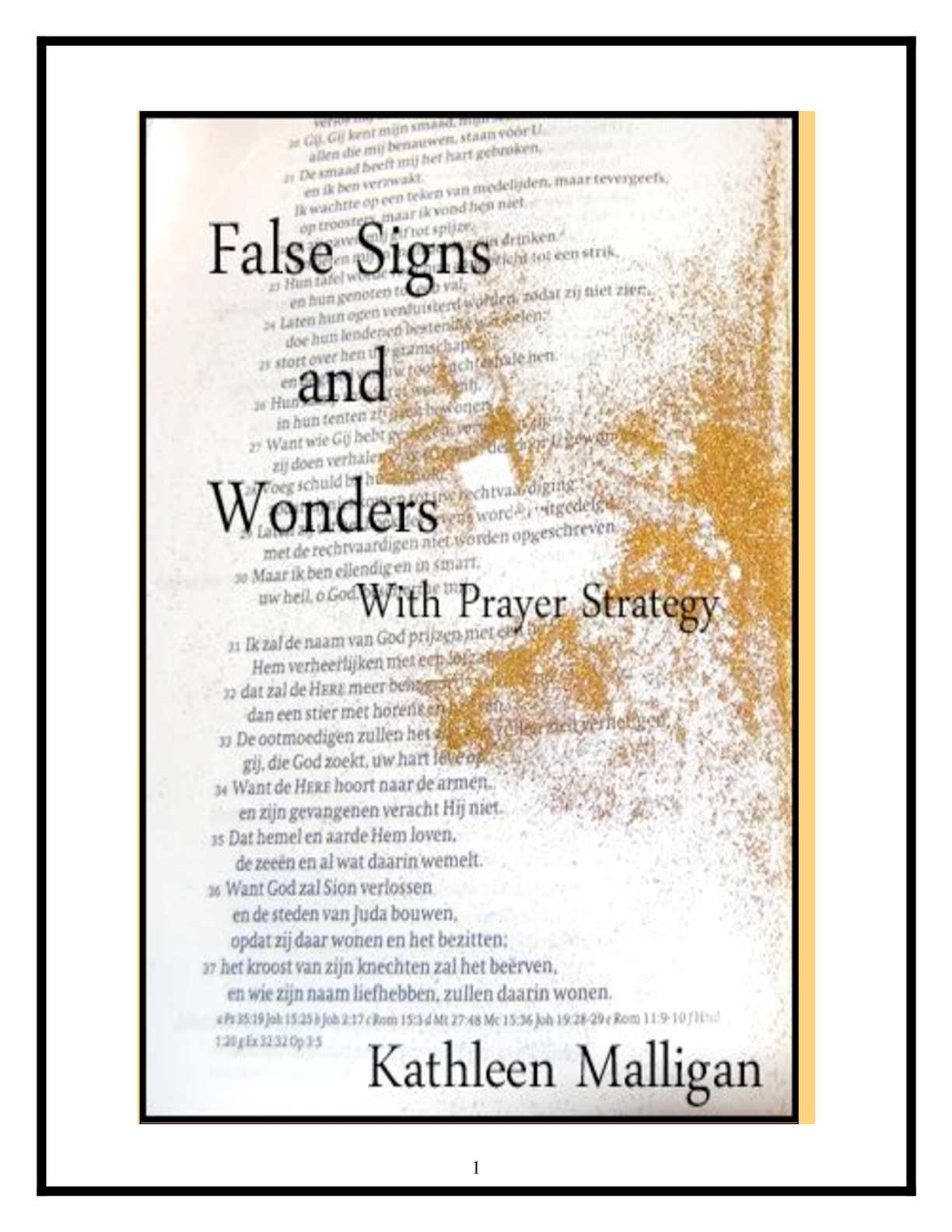 Calam O False Signs And Wonders With Prayer Strategy
