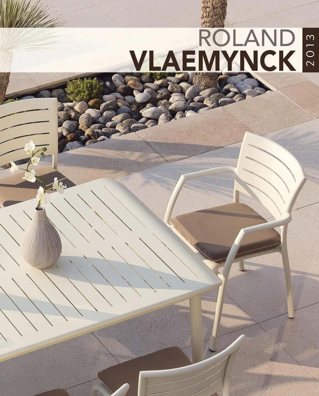 Calaméo - Catalogue mobilier outdoor Roland VLAEMYNCK pour les ...