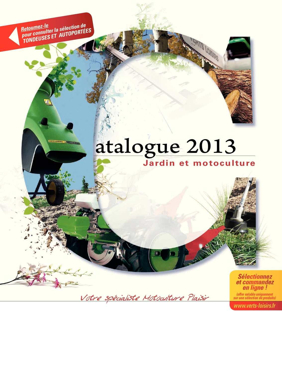 Calaméo Vertsloisirsheteaucatalogue2013