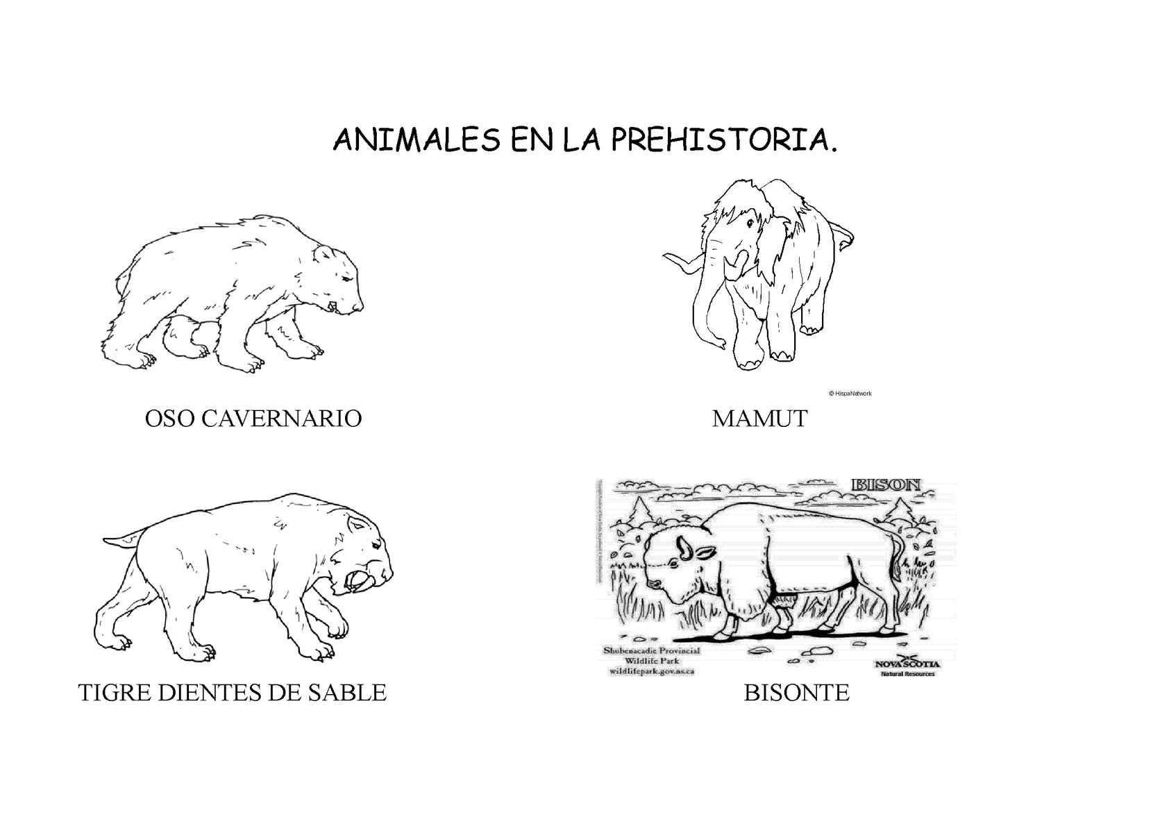 Dibujos De Prehistoria Para Ninos Para Colorear: PROYECTO PREHISTORIA