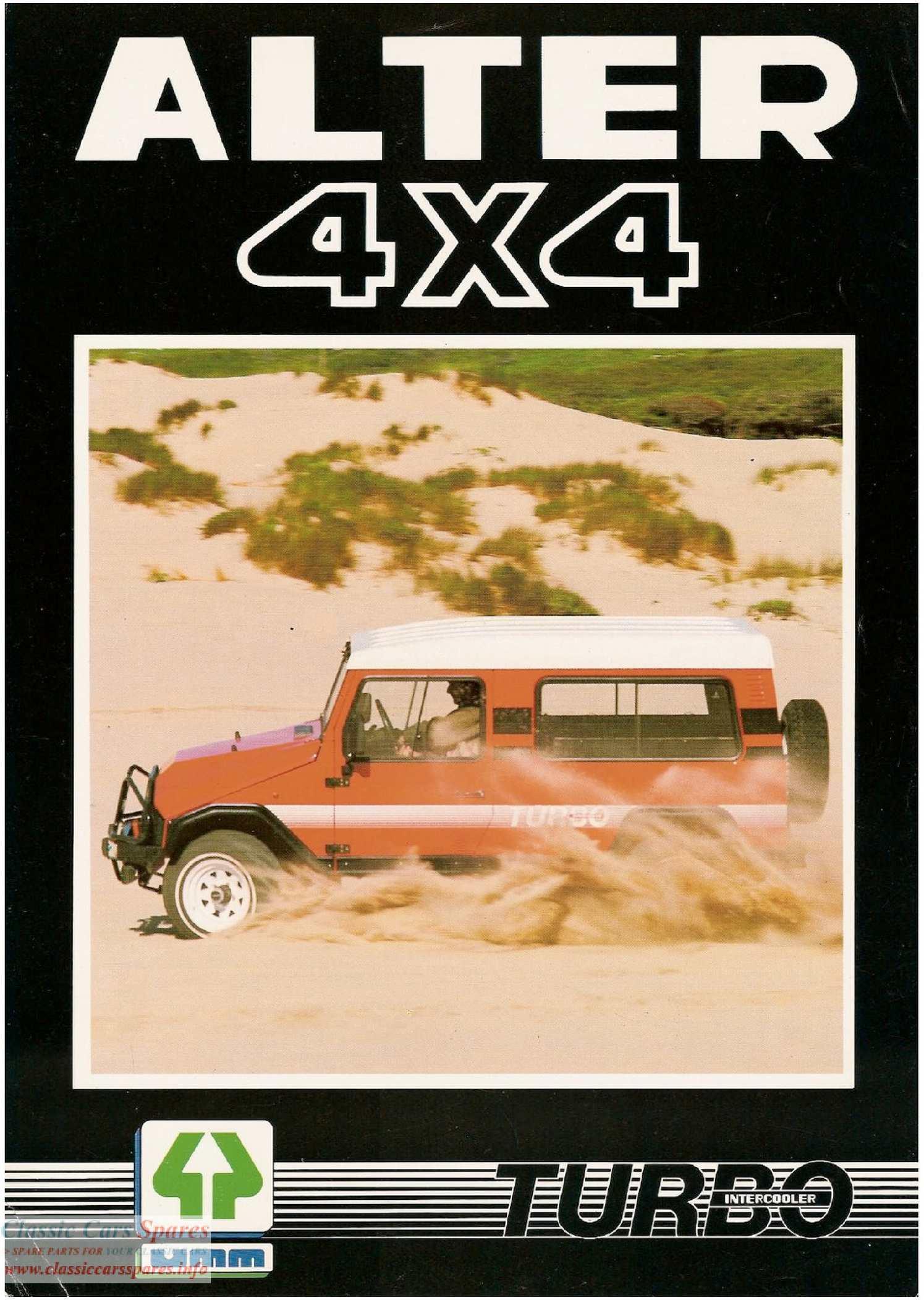 UMM Alter Turbo Brochure